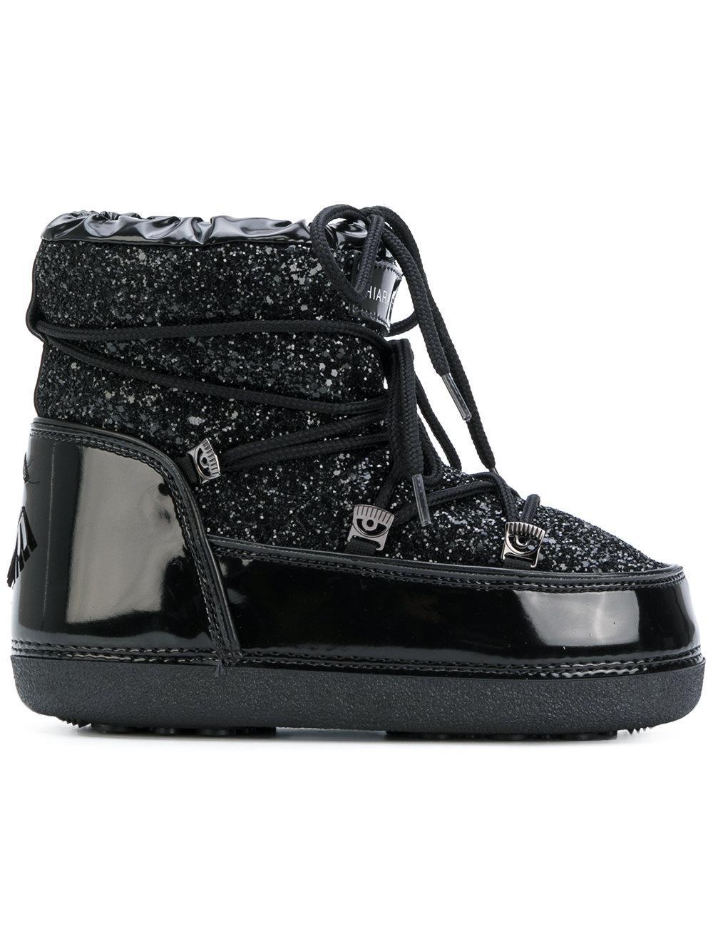 Chiara Ferragni Mirror snow boots WgtML47NM7