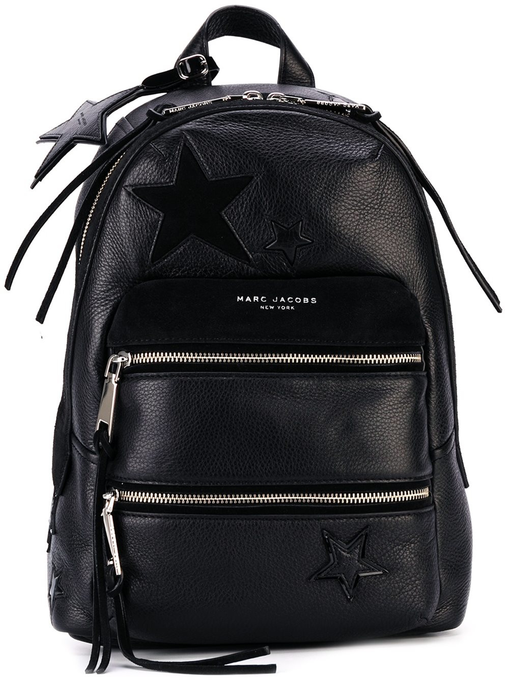 lyst marc jacobs star leather backpack. Black Bedroom Furniture Sets. Home Design Ideas