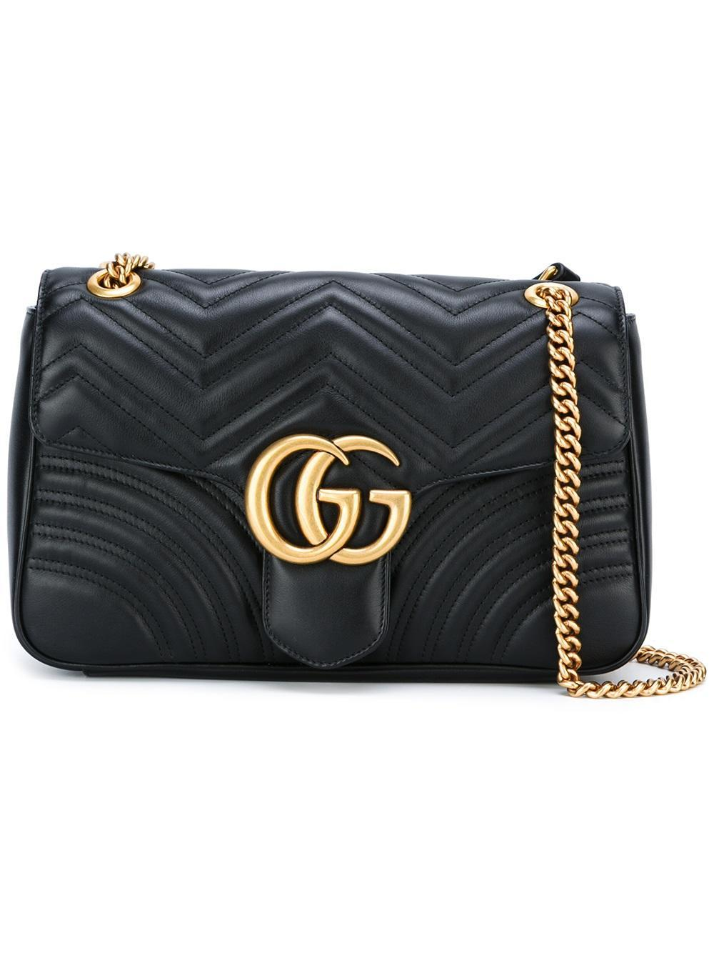 Lyst - Gucci Marmont Large Bag