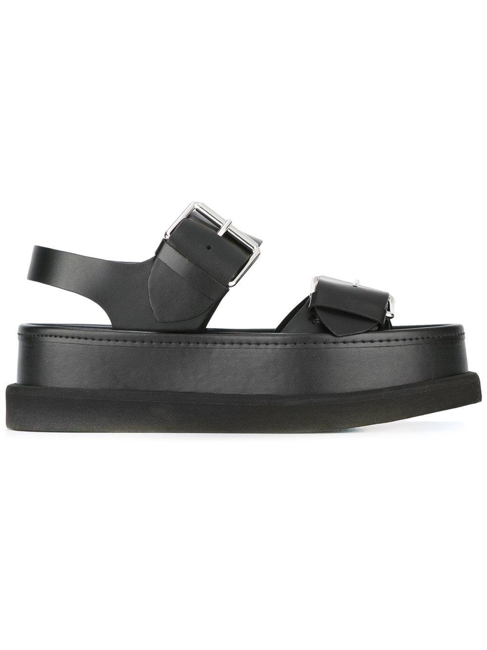 Stella Mccartney Platform Sandals In Black Lyst