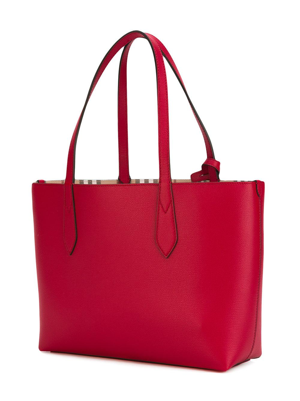 4267c8b71cca Lyst - Burberry Lavenby Small Bag in Red