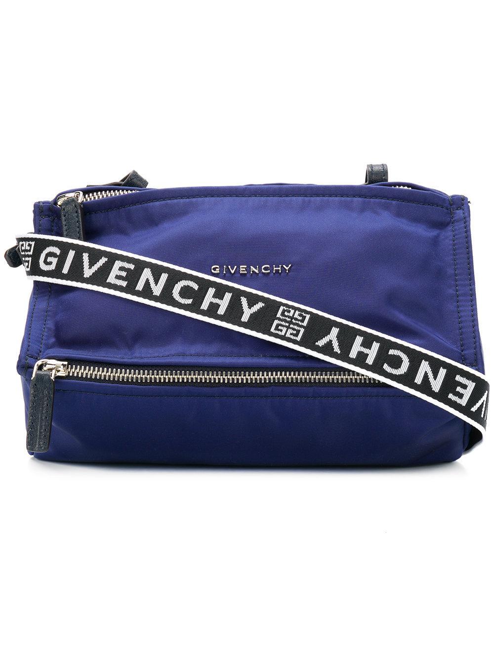 1fb1bbc2d0 Givenchy - Blue Pandora Mini Leather Shoulder Bag - Lyst. View fullscreen
