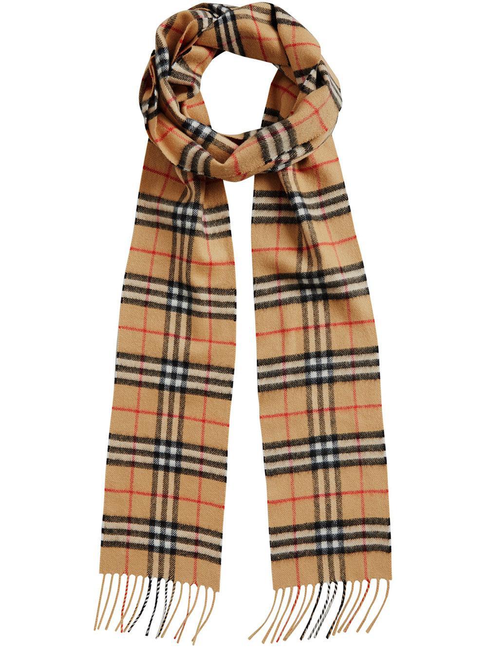 skinny vintage check scarf Burberry Vsd4qSoh