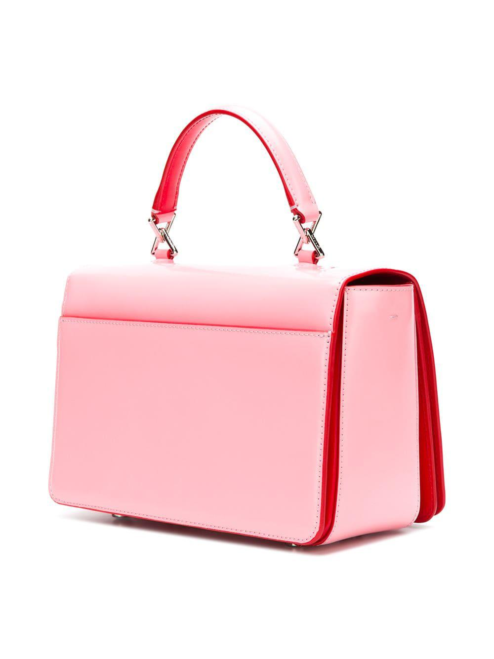 KENZO - Pink Bowling Bag With Shoulder Belt - Lyst. View fullscreen 15f30a78b4bb6