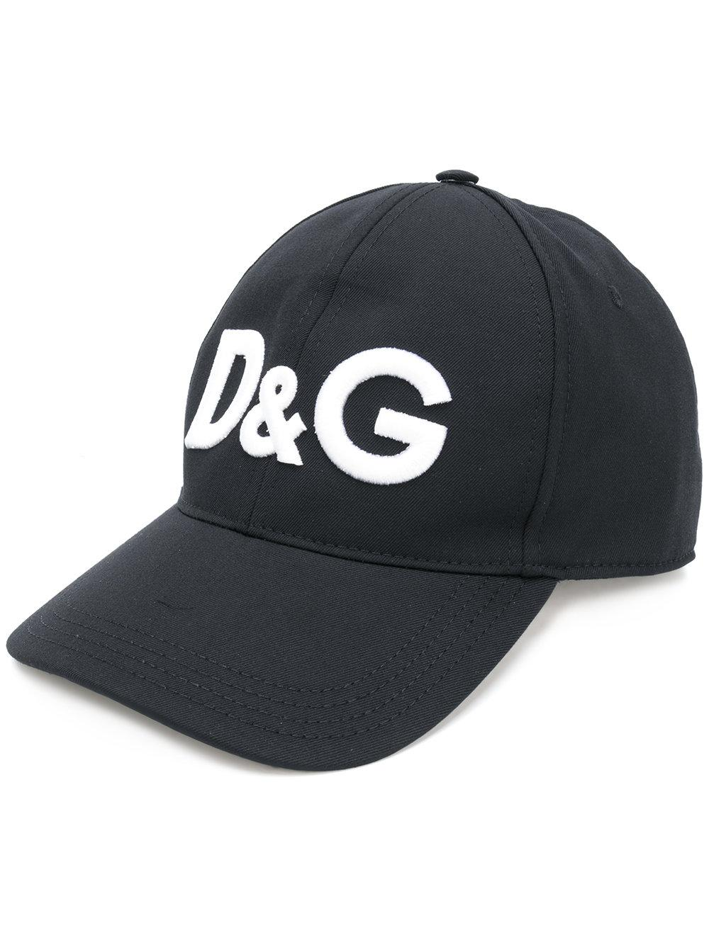 9da7a4367a6 Lyst - Dolce   Gabbana Logo Hat in Black for Men