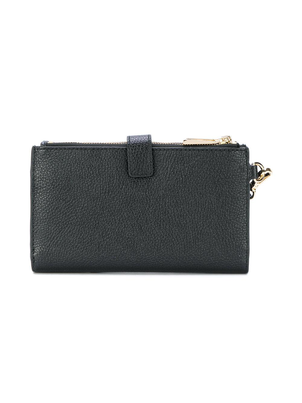 702806f92162b3 Lyst - MICHAEL Michael Kors Leather Pouch in Black - Save 8%
