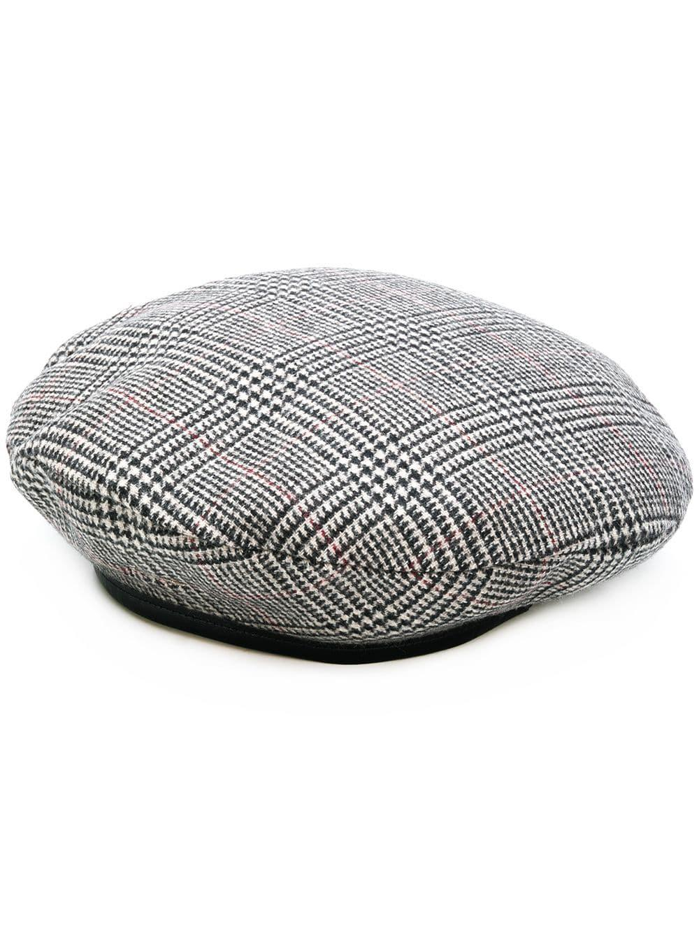 59e773c237d Don Paris Wool Beret in Gray - Lyst