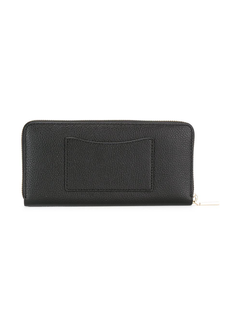 1d8e14e847897 Lyst - MICHAEL Michael Kors Mercer Leather Wallet in Black - Save 18%