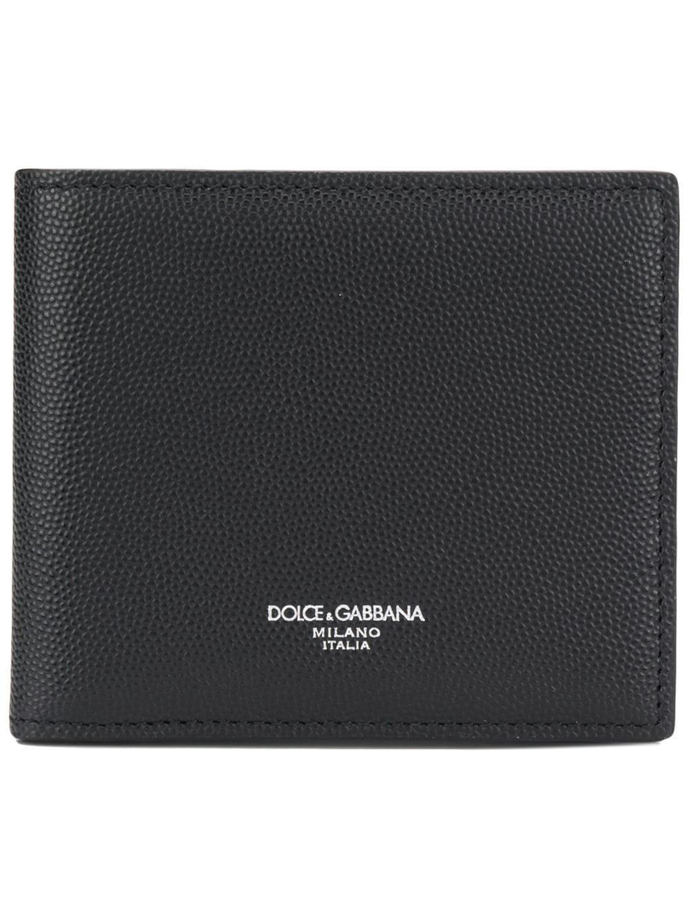 6049e06a79 Lyst - Dolce & Gabbana Sunshine Calf Wallet in Black for Men