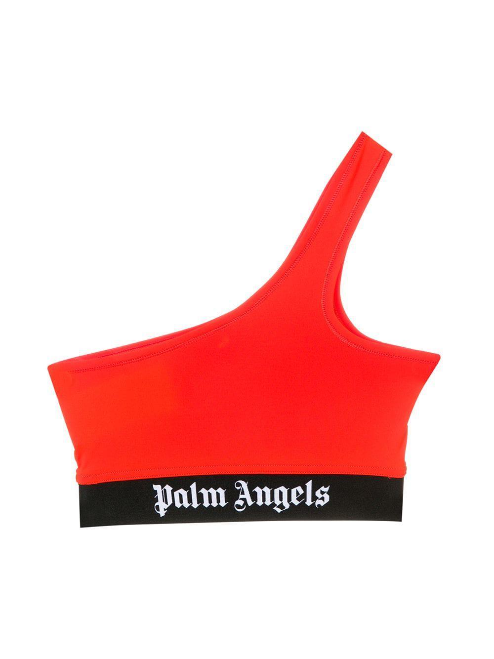 0041214740f1e5 Lyst - Palm Angels Single Shoulder Bra in Orange - Save 7%