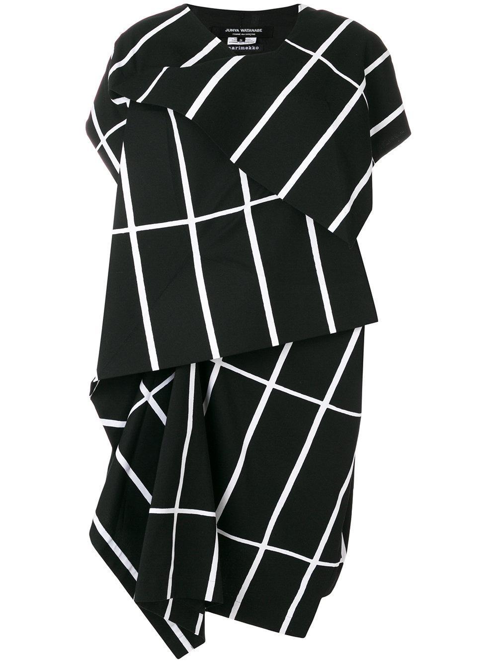 Junya Watanabe geometric print jumper - Gris 5cPkjjaG