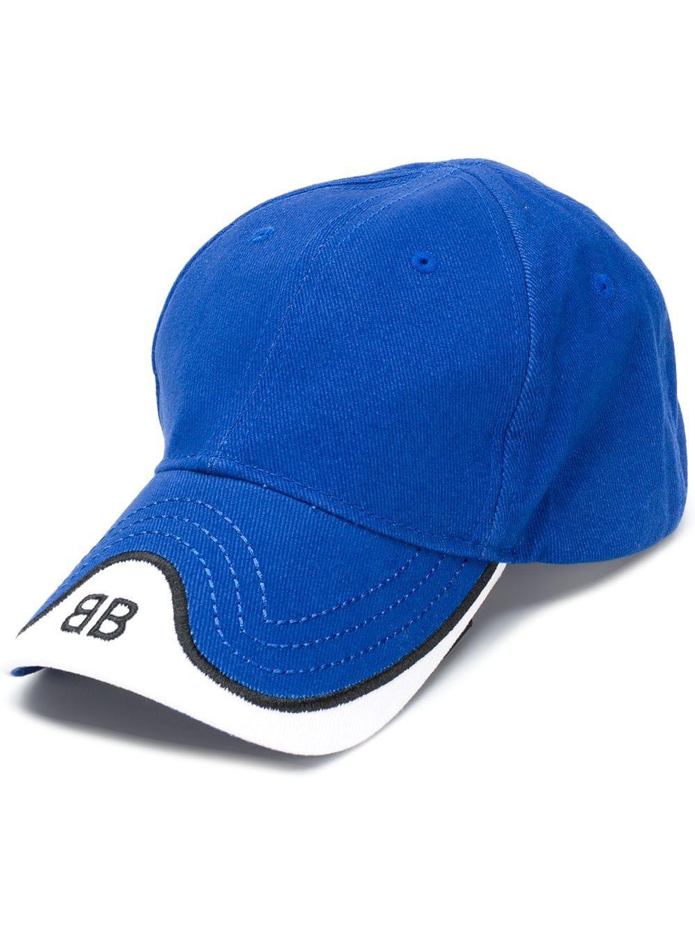 85d2a851f86 Balenciaga Cotton Hat in Blue for Men - Lyst