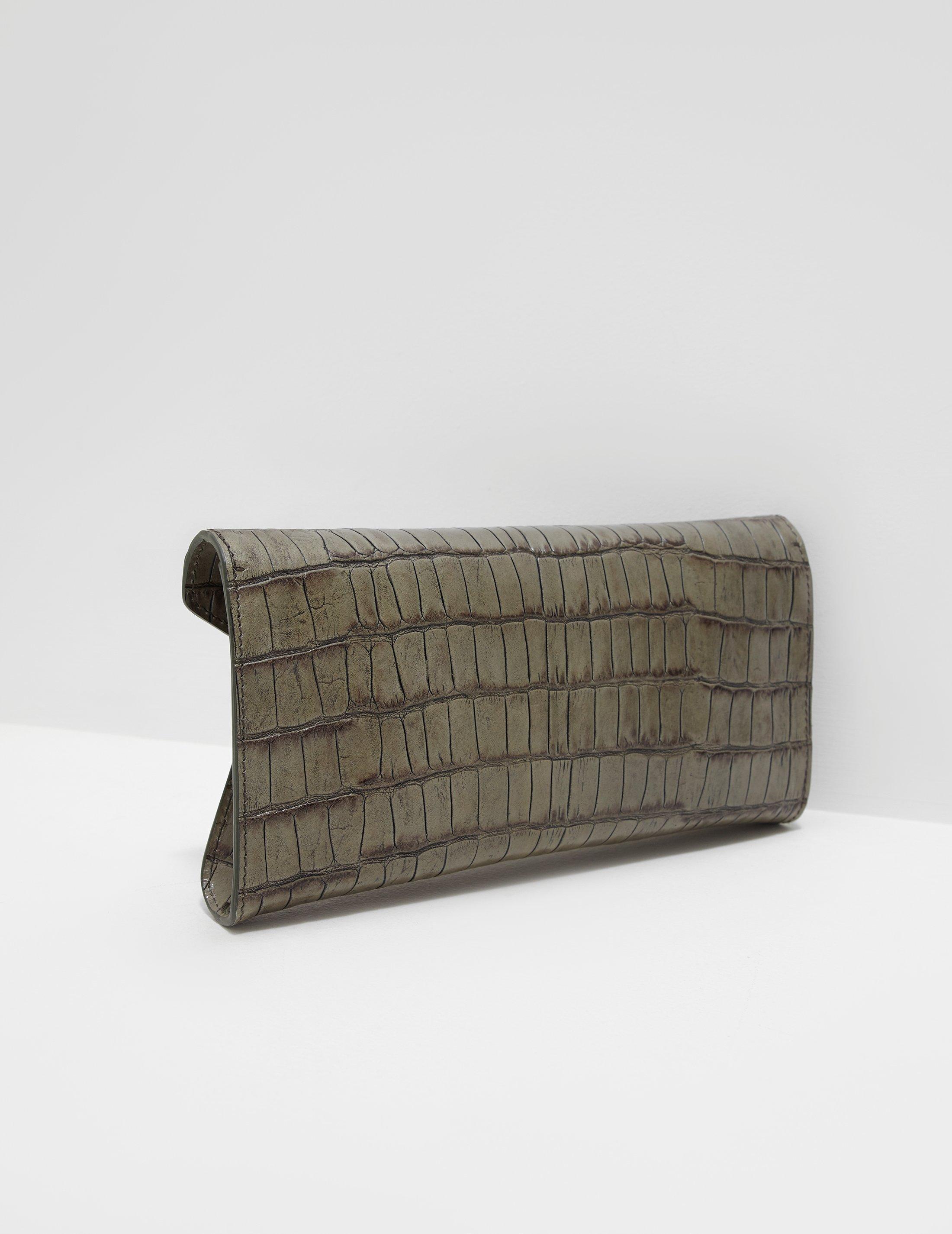 ee1f6f3a2d04 Vivienne Westwood - Lisa Croc Envelope Clutch Bag - Online Exclusive Green  - Lyst. View fullscreen