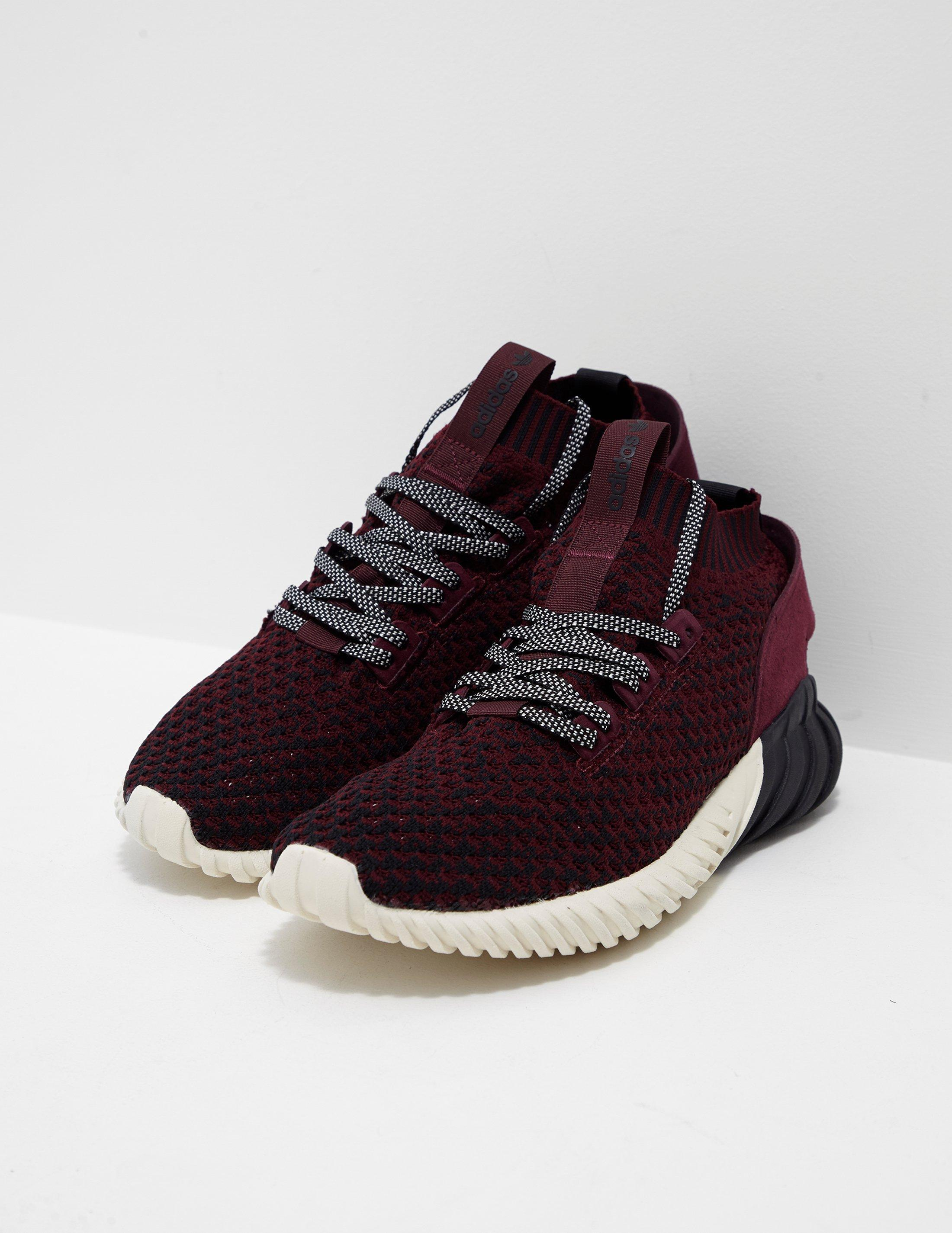 adidas originali mens tubulare tubulare mens doom sock primeknit bordeaux / nero 06dc7f
