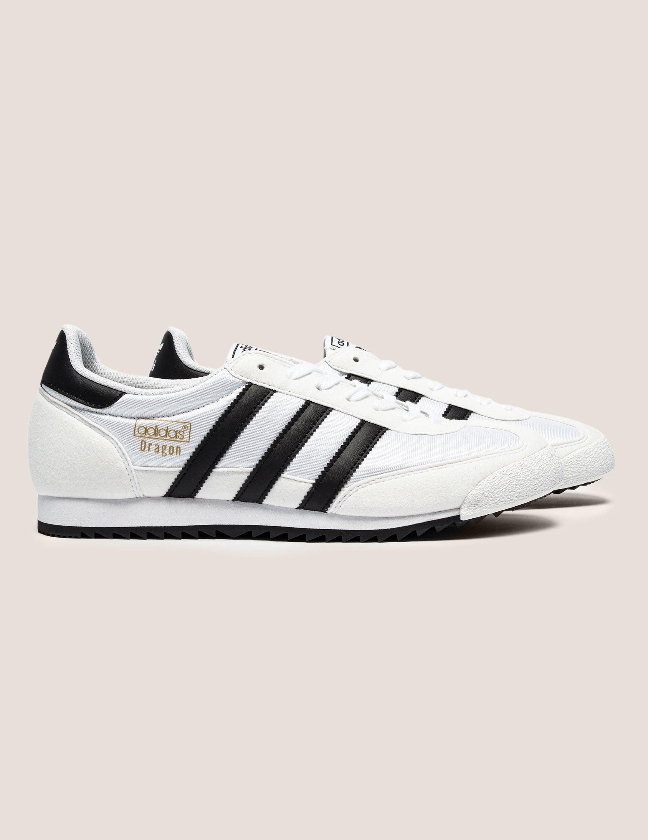 pick up 695db eaa61 adidas Originals Mens Dragon Vintage White in White for Men - Lyst