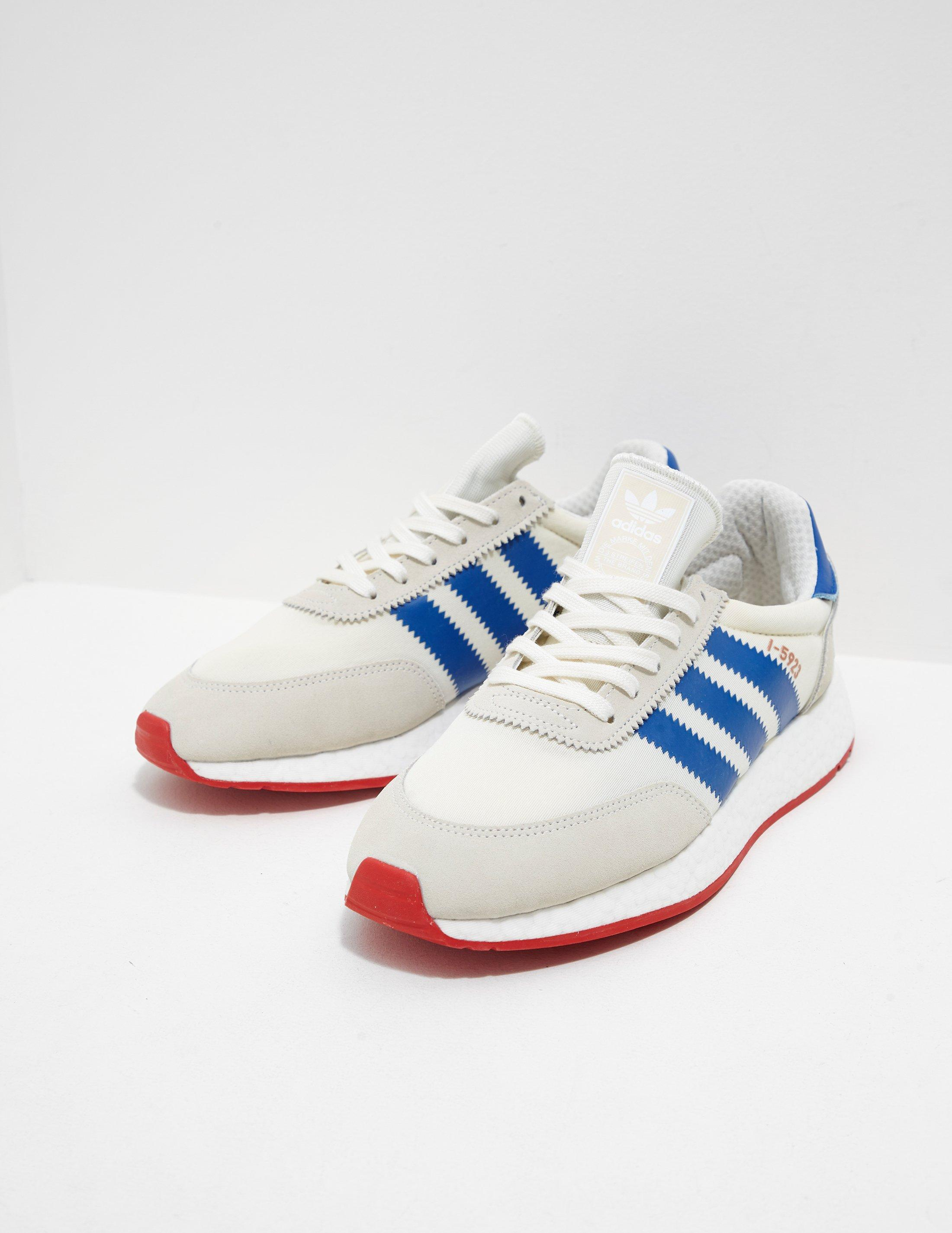 c4c75fba7827 Adidas Originals Mens I-5923 Boost White in White for Men - Lyst