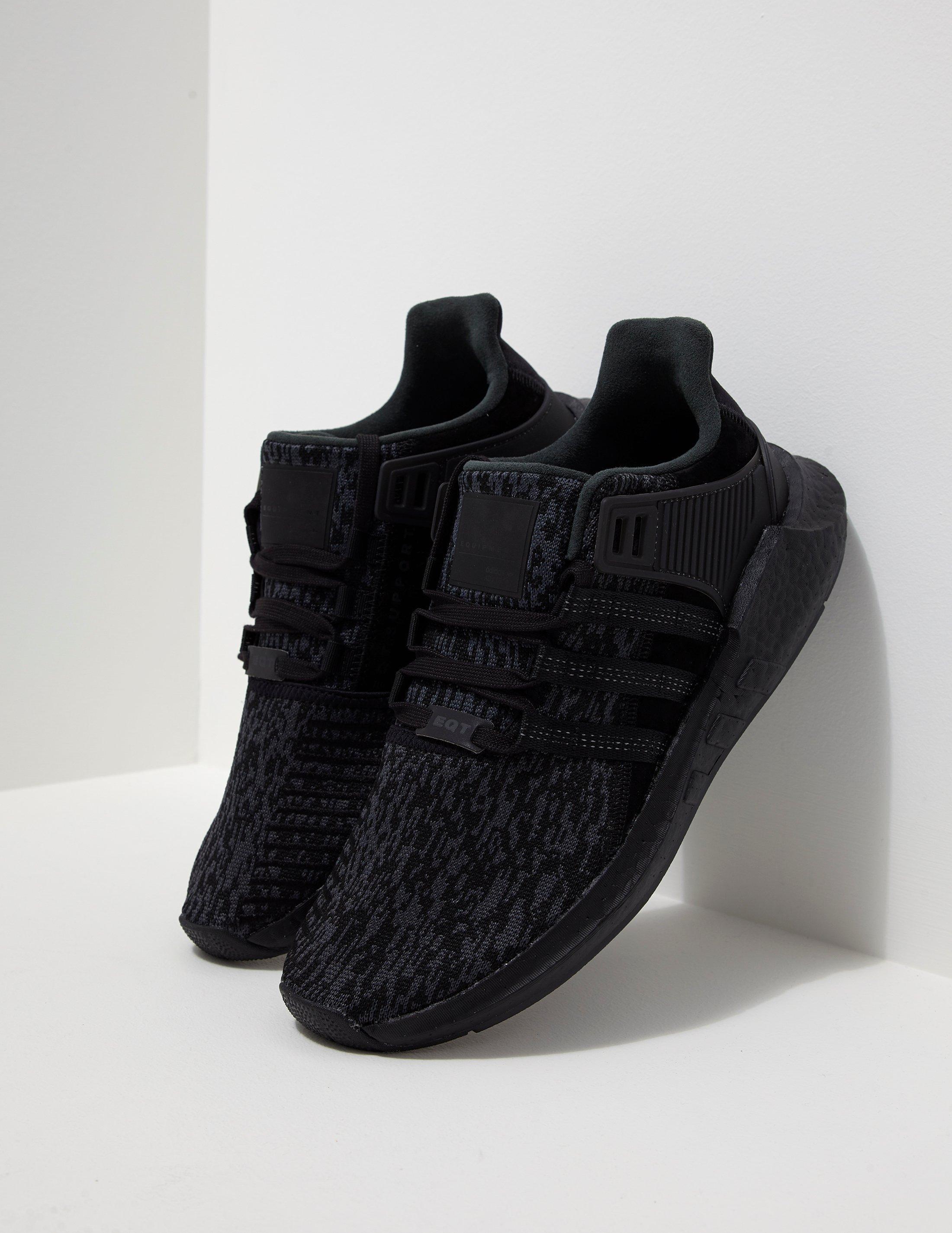 ade068f48c9e6c Lyst - Adidas Originals Mens Eqt Support 93 17 Black in Black for Men