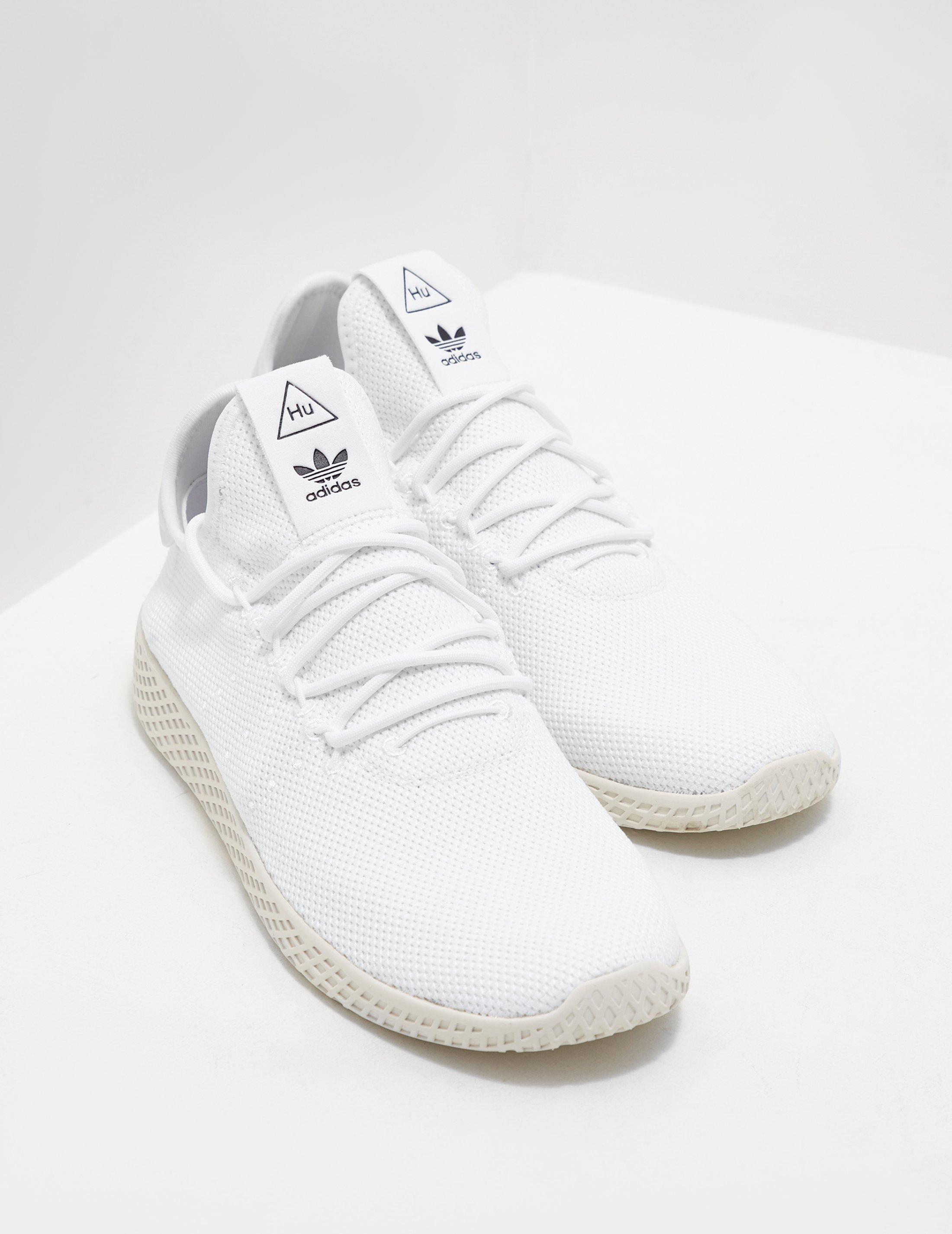 6dc44357fc44 adidas Originals X Pharrell Williams in White for Men - Lyst