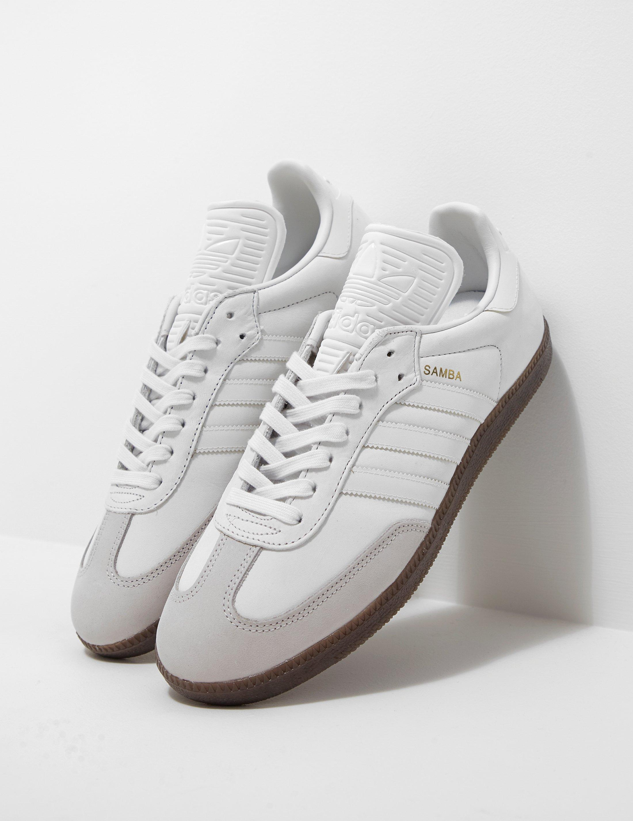 2a3b3390713 Lyst - adidas Originals Mens Samba Og White