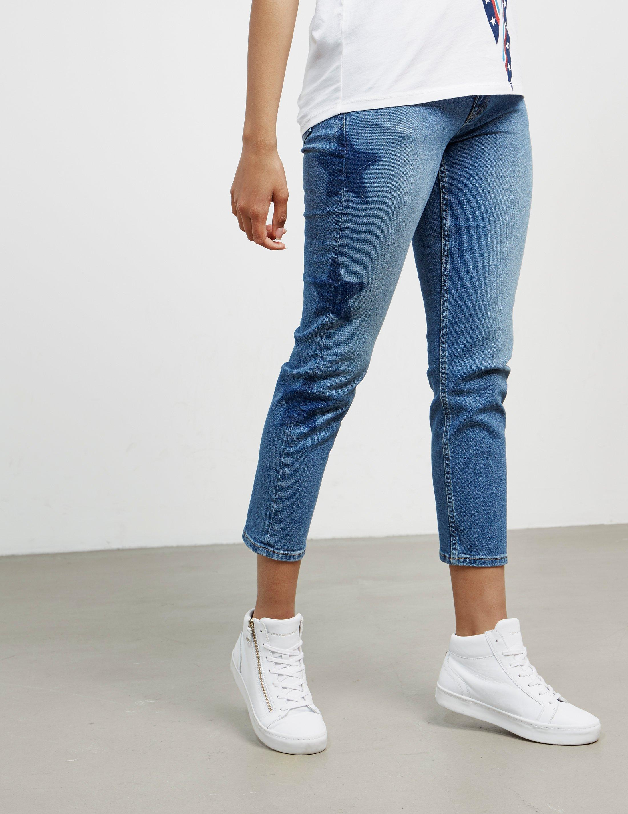 395c28d02 Tommy Hilfiger Slim Izzy Star Jeans Blue in Blue - Lyst