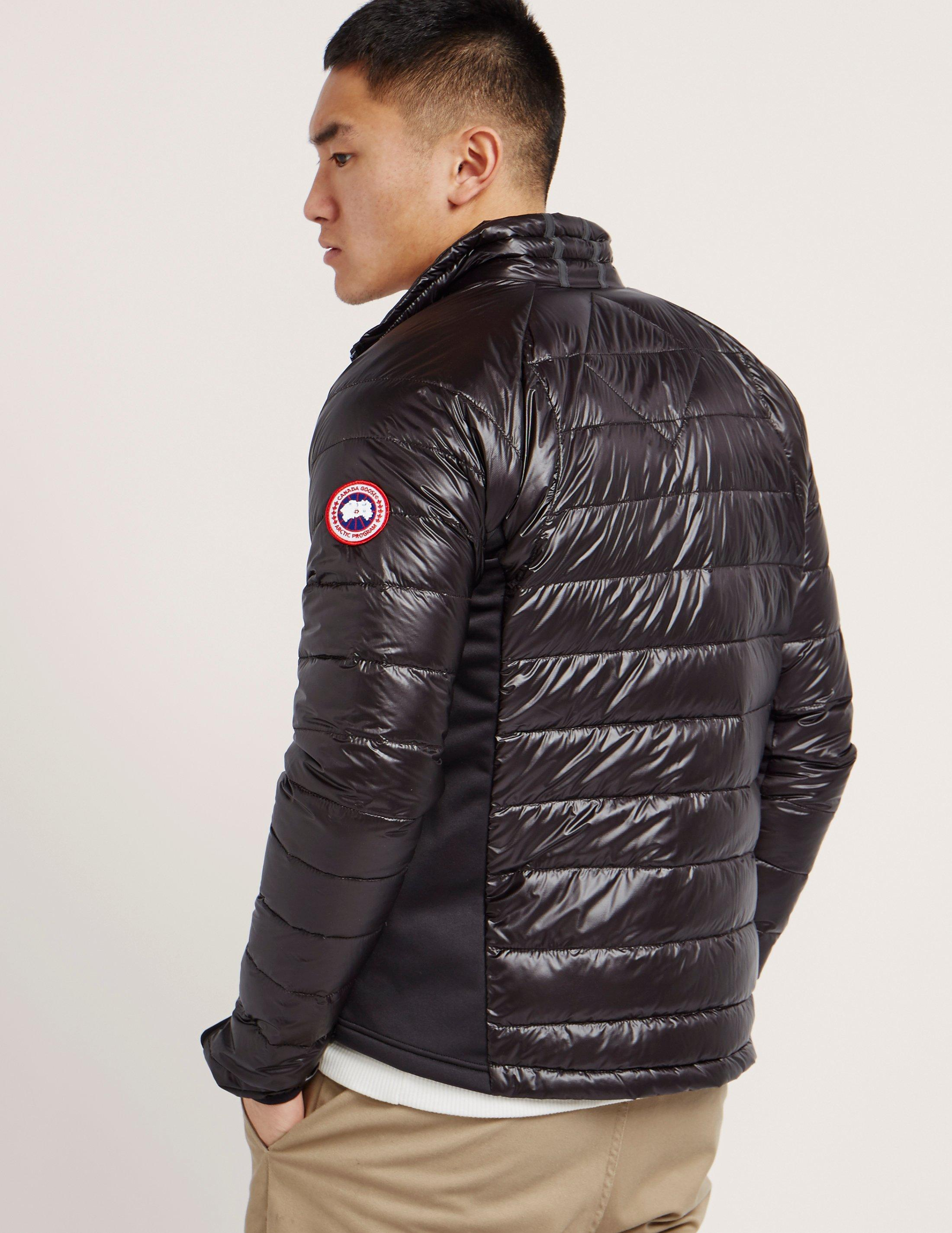 canada goose blue bubble jacket
