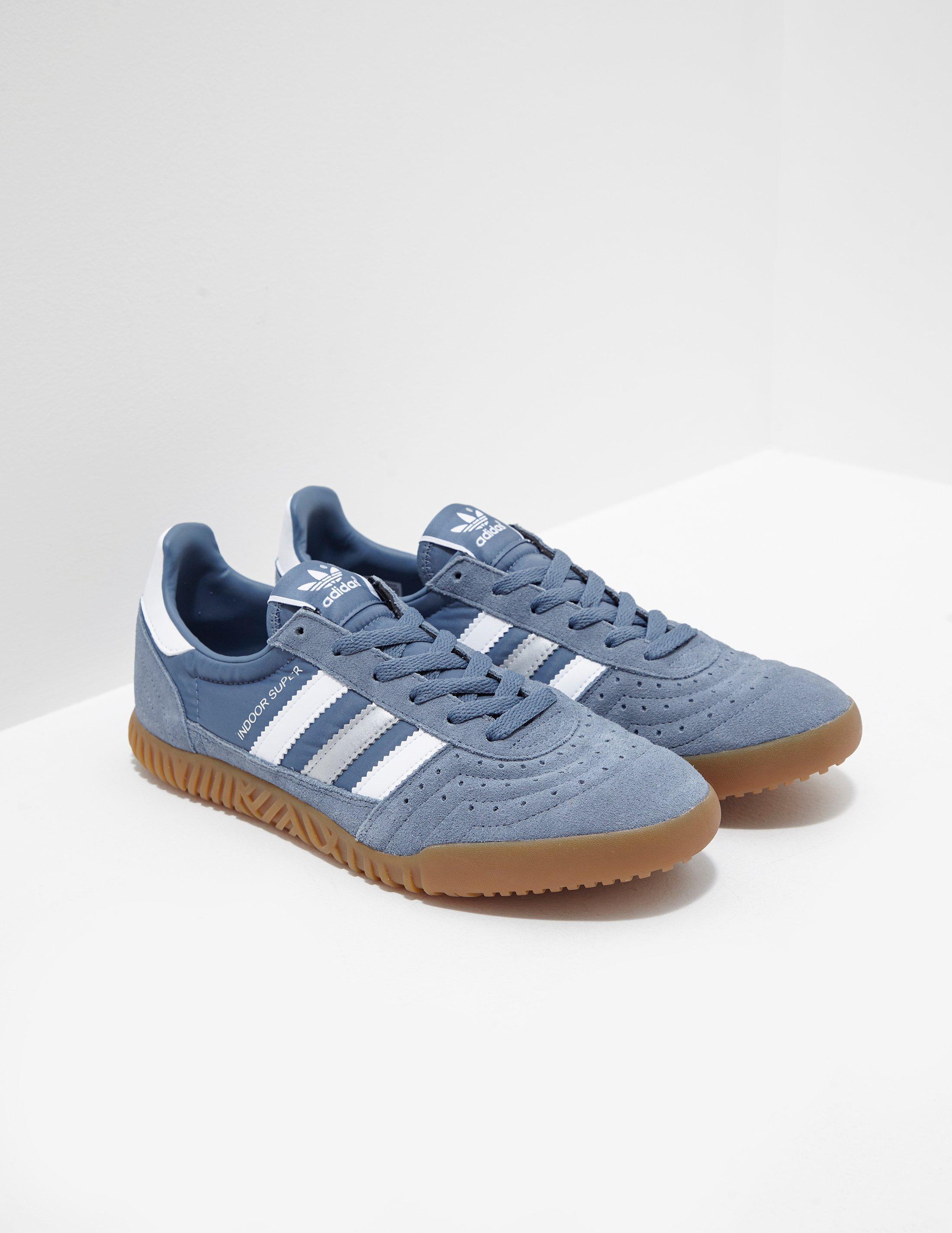 4da95efe00fef Lyst - adidas Originals Indoor Super Grey in Gray for Men