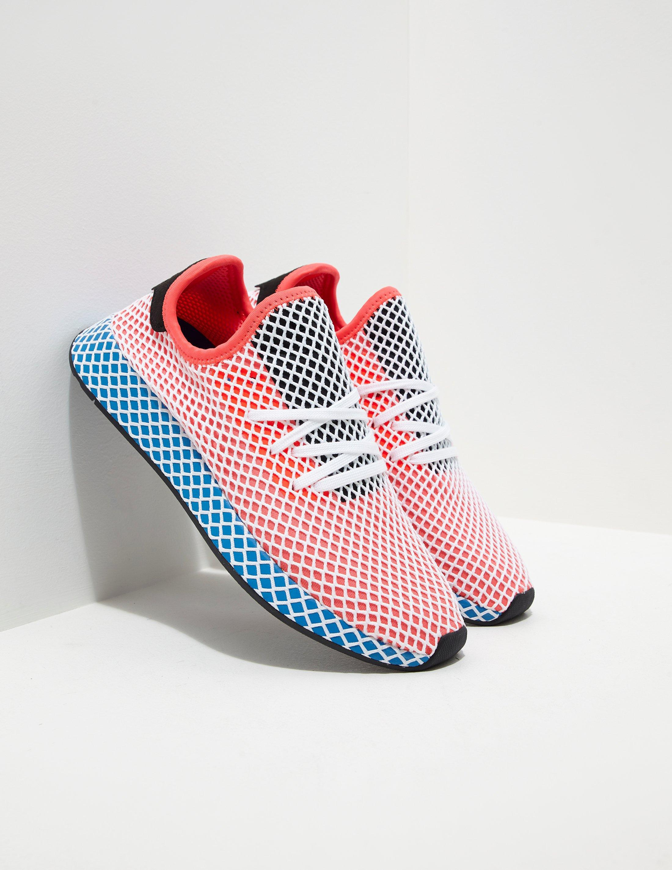 898e050c932cf Lyst - adidas Originals Mens Deerupt Red blue in Blue