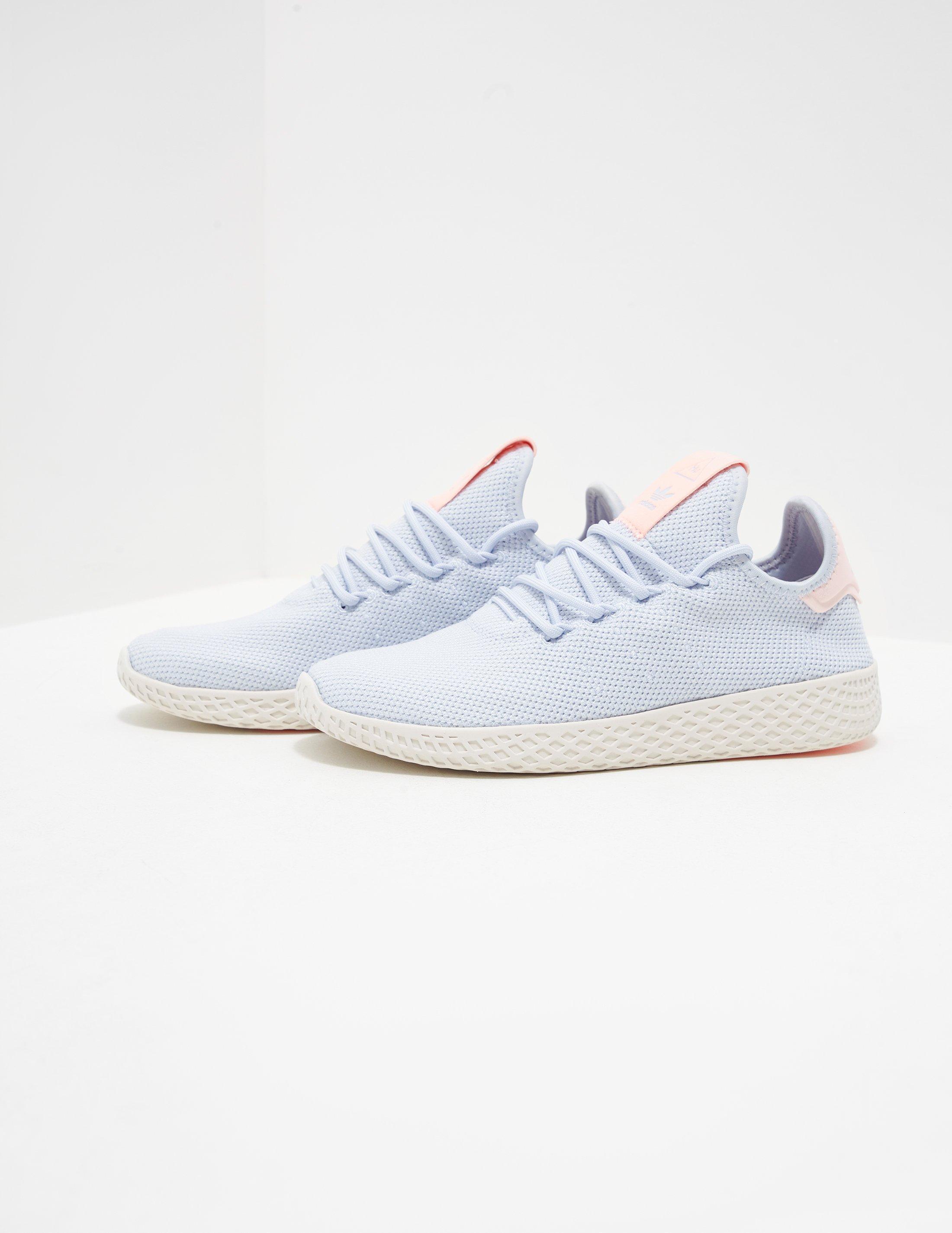 0c81afc76 adidas Originals X Pharrell Williams Tennis Hu Trainers Blue in Blue ...