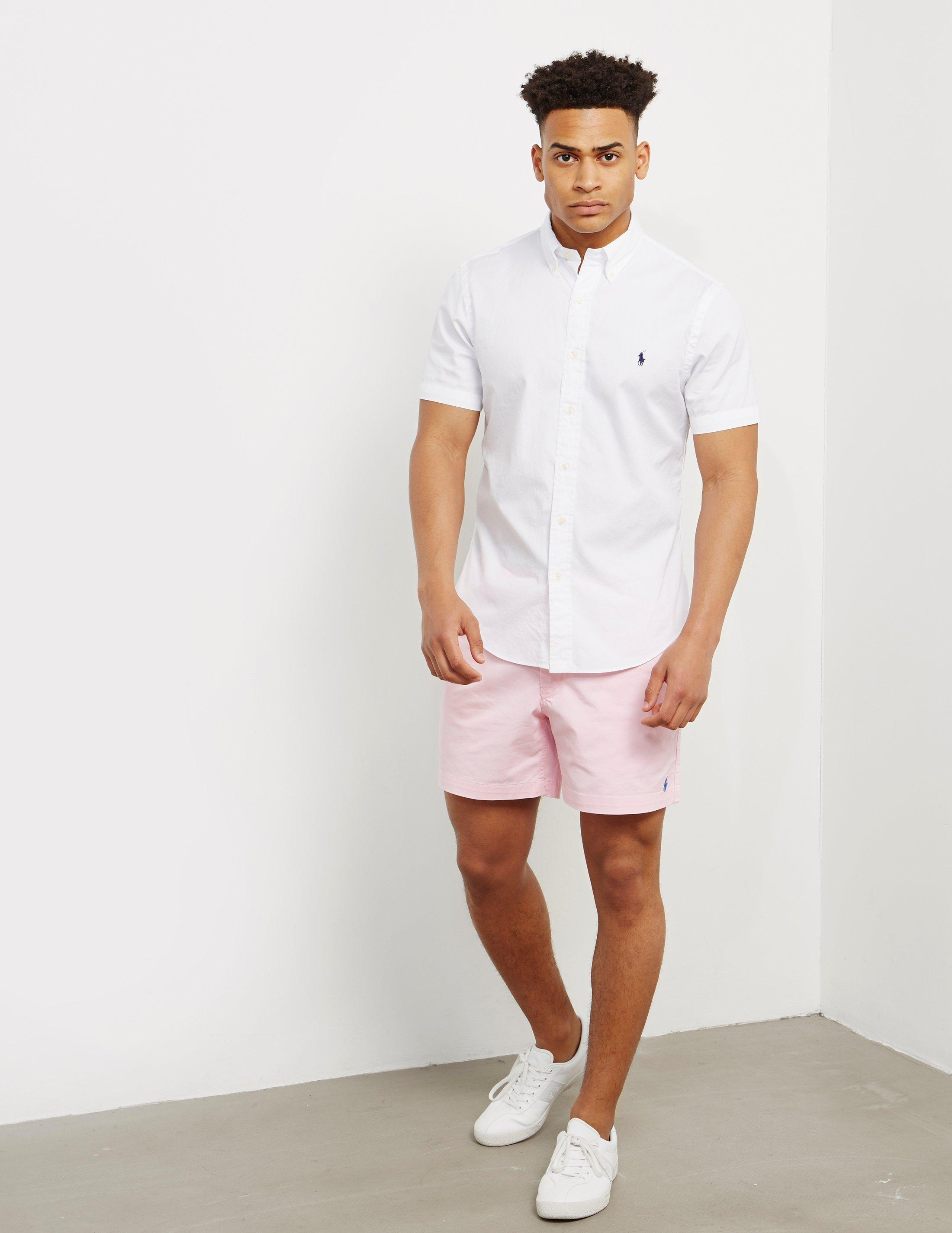 37ab8a302 Pink Polo Shirt And White Shorts | Saddha