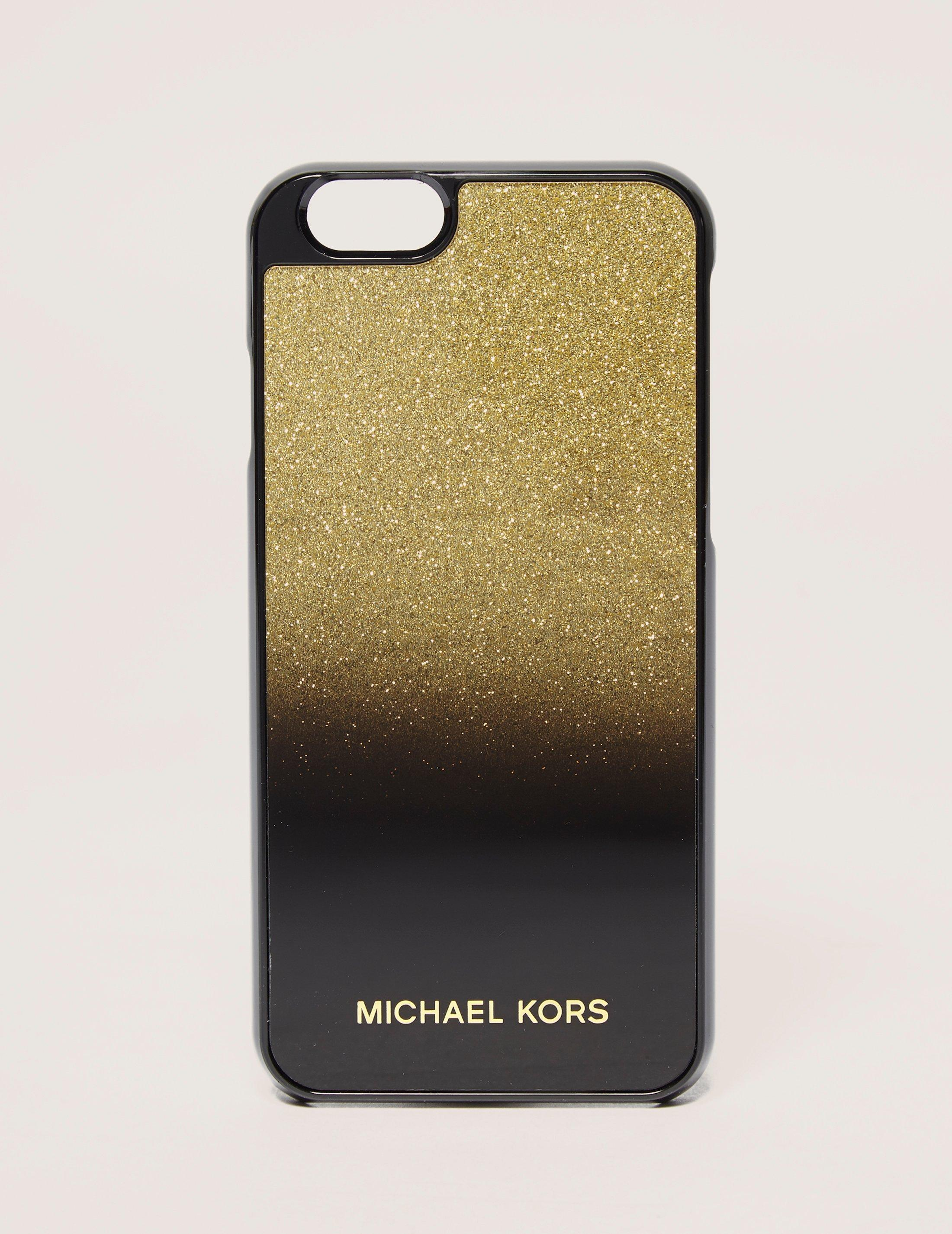 michael kors iphone lyst michael kors iphone 6 cover in black 567