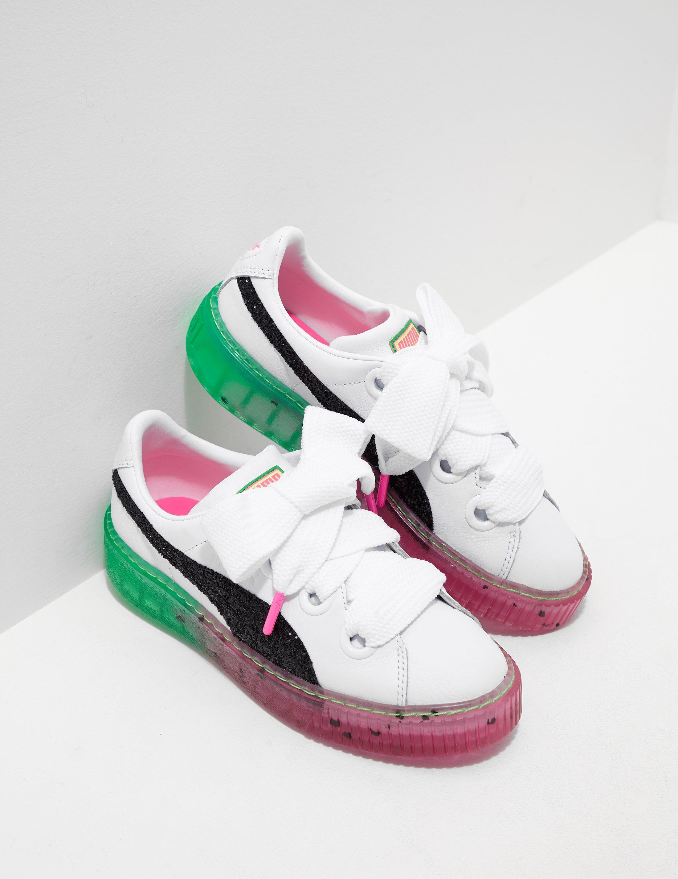 5f15fd1af8ed Lyst - PUMA Womens X Sophia Webster Platform Candy Princess Trainers ...