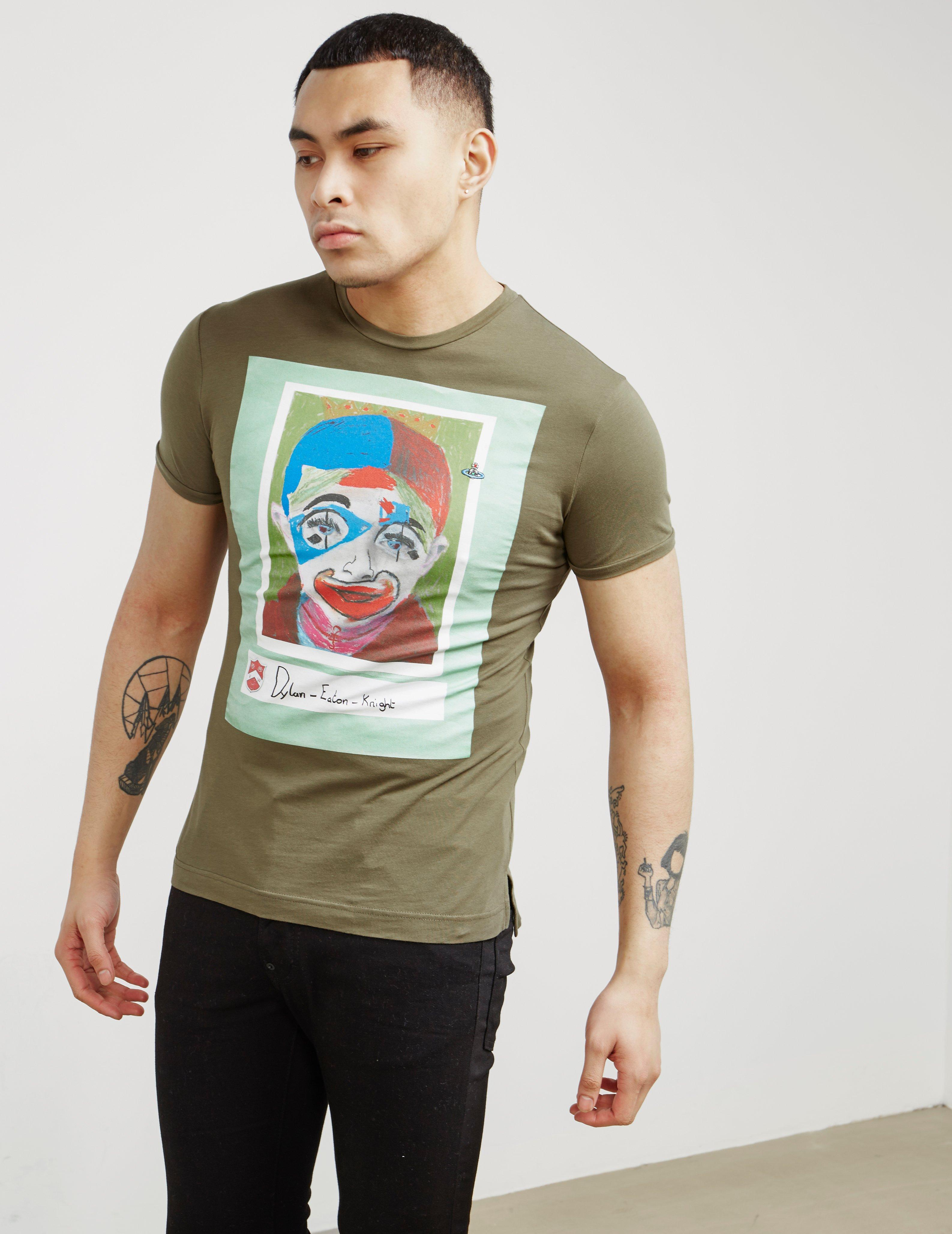 615ed8c79ce8dc Lyst - Vivienne Westwood Mens Dylan Short Sleeve T-shirt Green in Green for  Men
