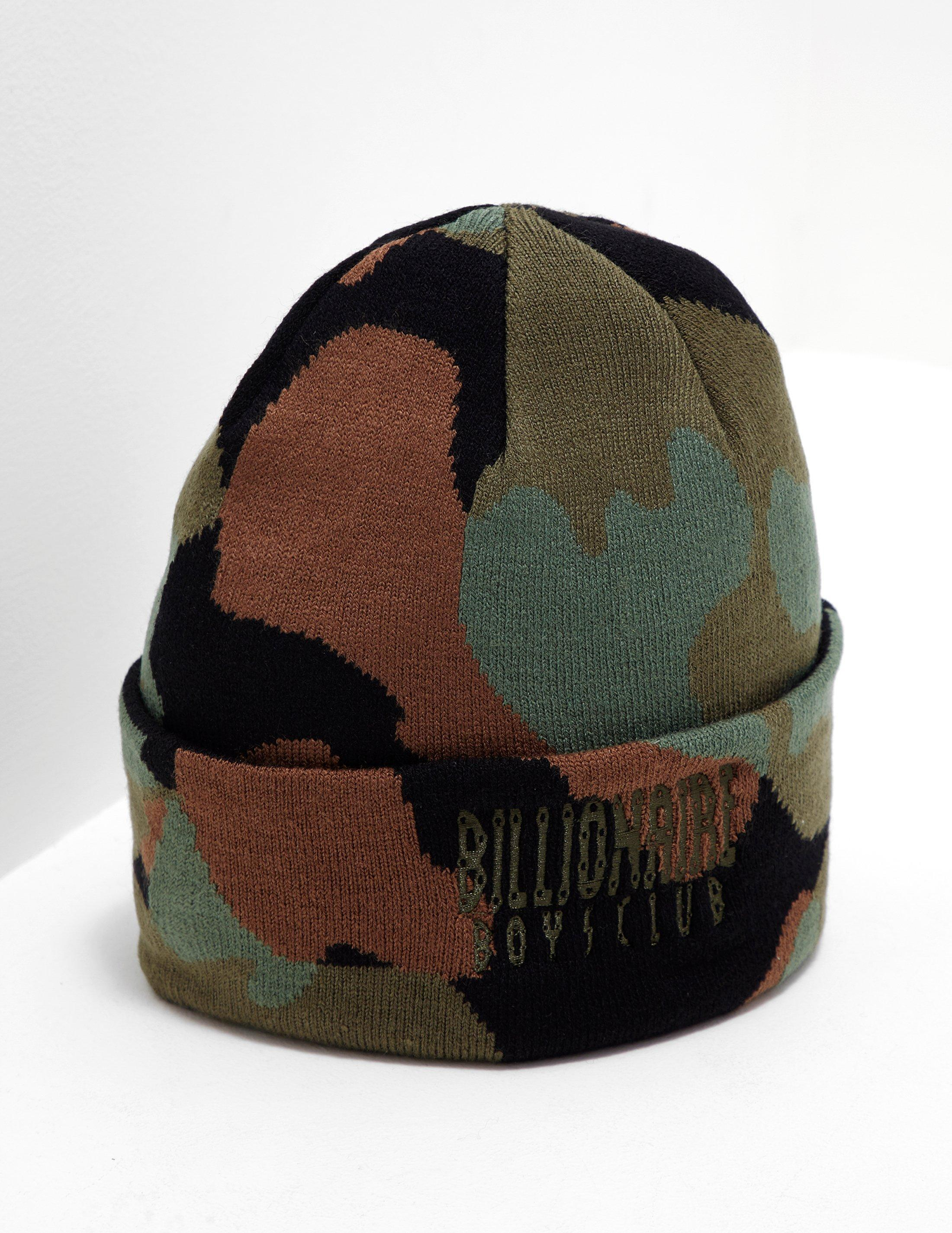 6e4cb450d0d BBCICECREAM - Space Camouflage Beanie Black for Men - Lyst. View fullscreen