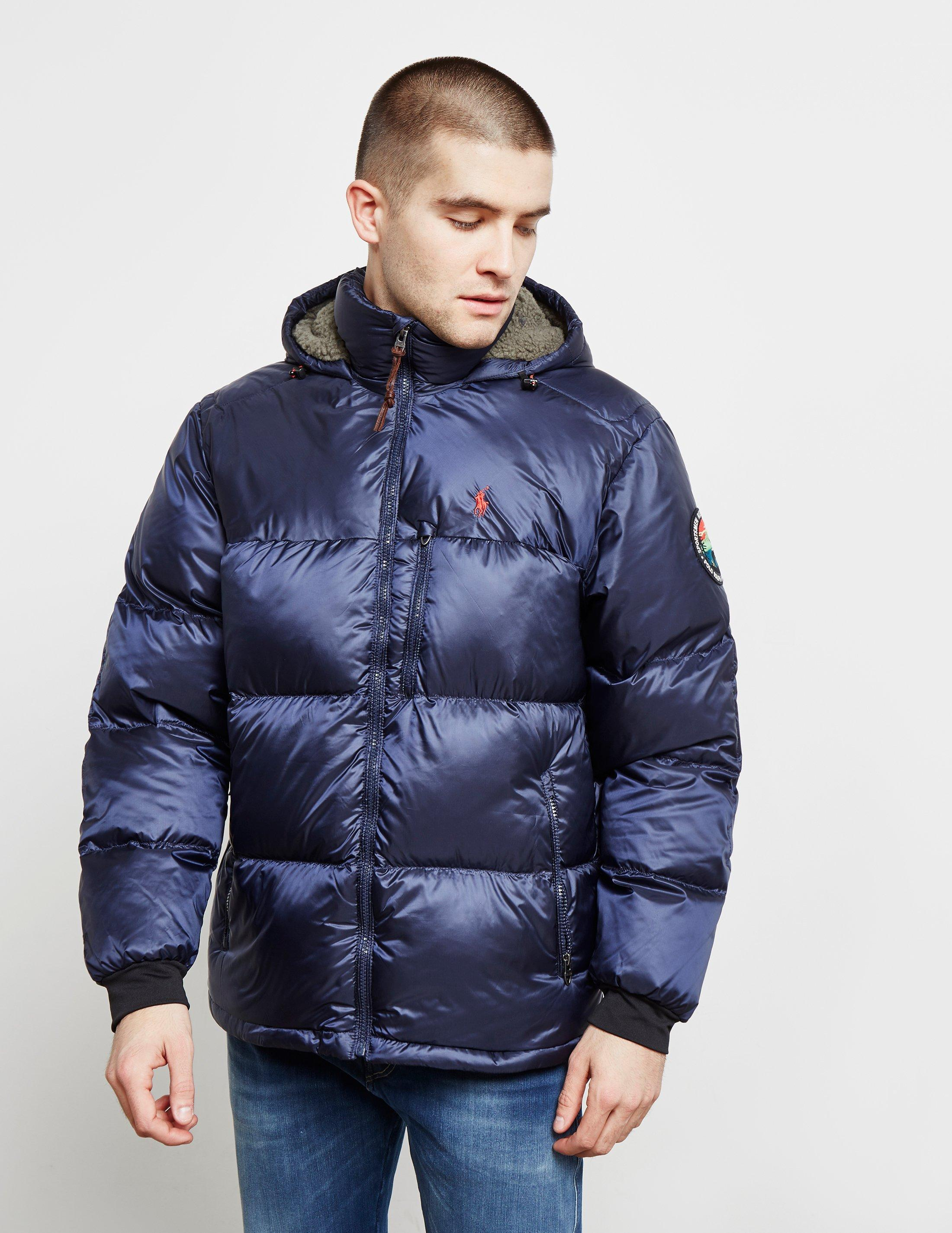 57f6e99c5f518 Lyst - Polo Ralph Lauren Jackson Down Padded Jacket Navy Blue in ...