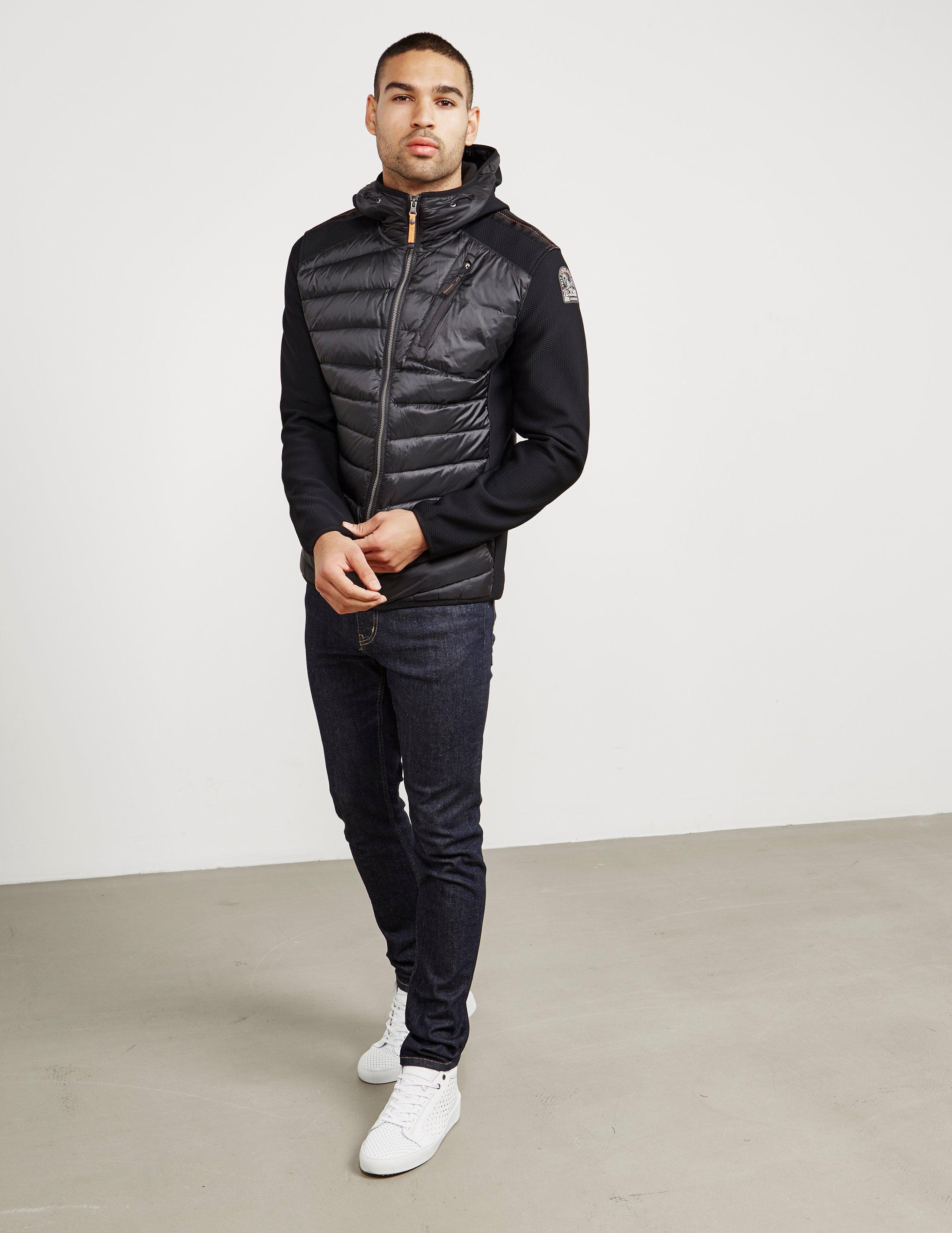 Lyst - Parajumpers Mens Nolan Lightweight Hooded Jacket Black in Black for Men - Save 5.962059620596207%
