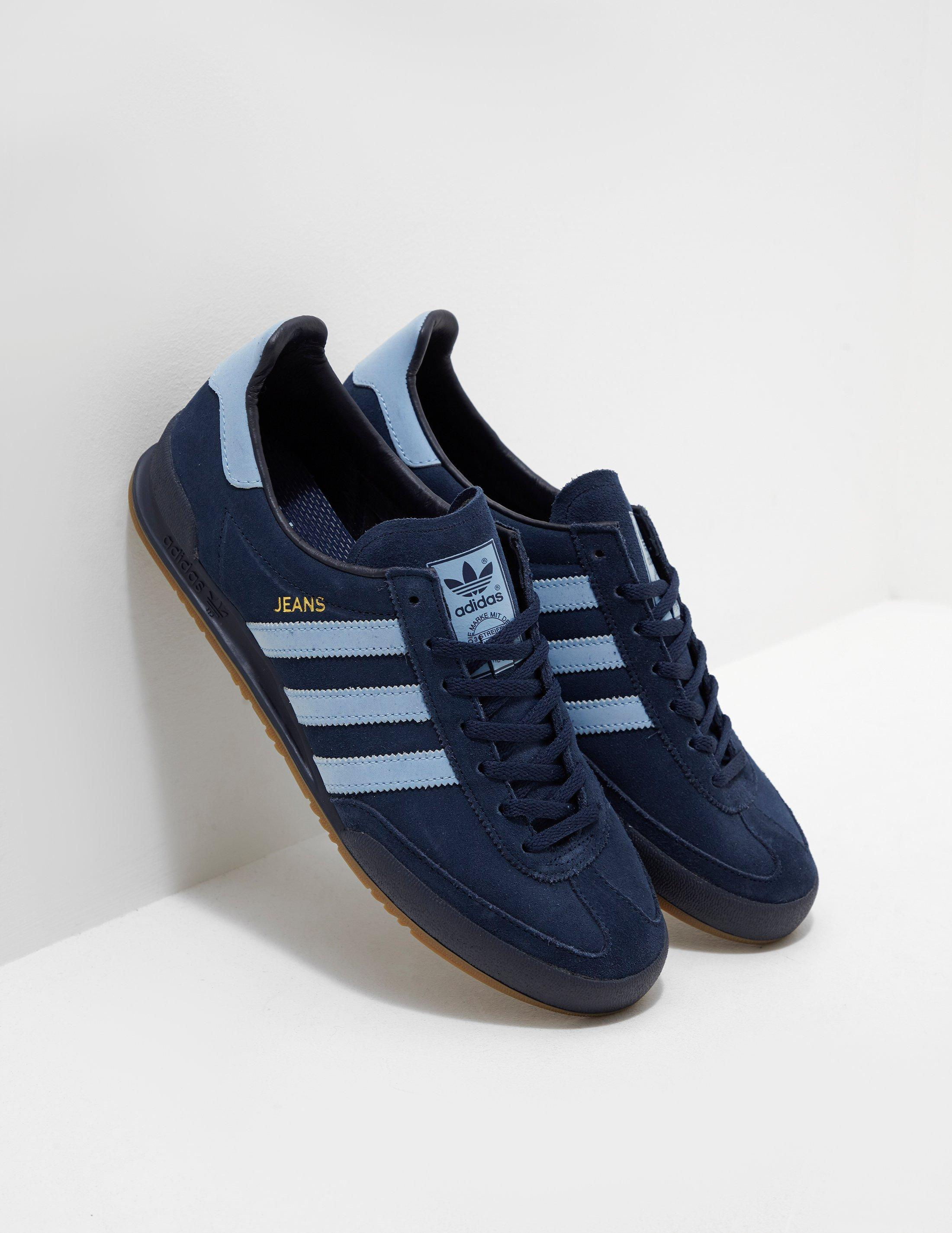 aeacdac1310b adidas Originals Jeans Navy Blue in Blue for Men - Lyst