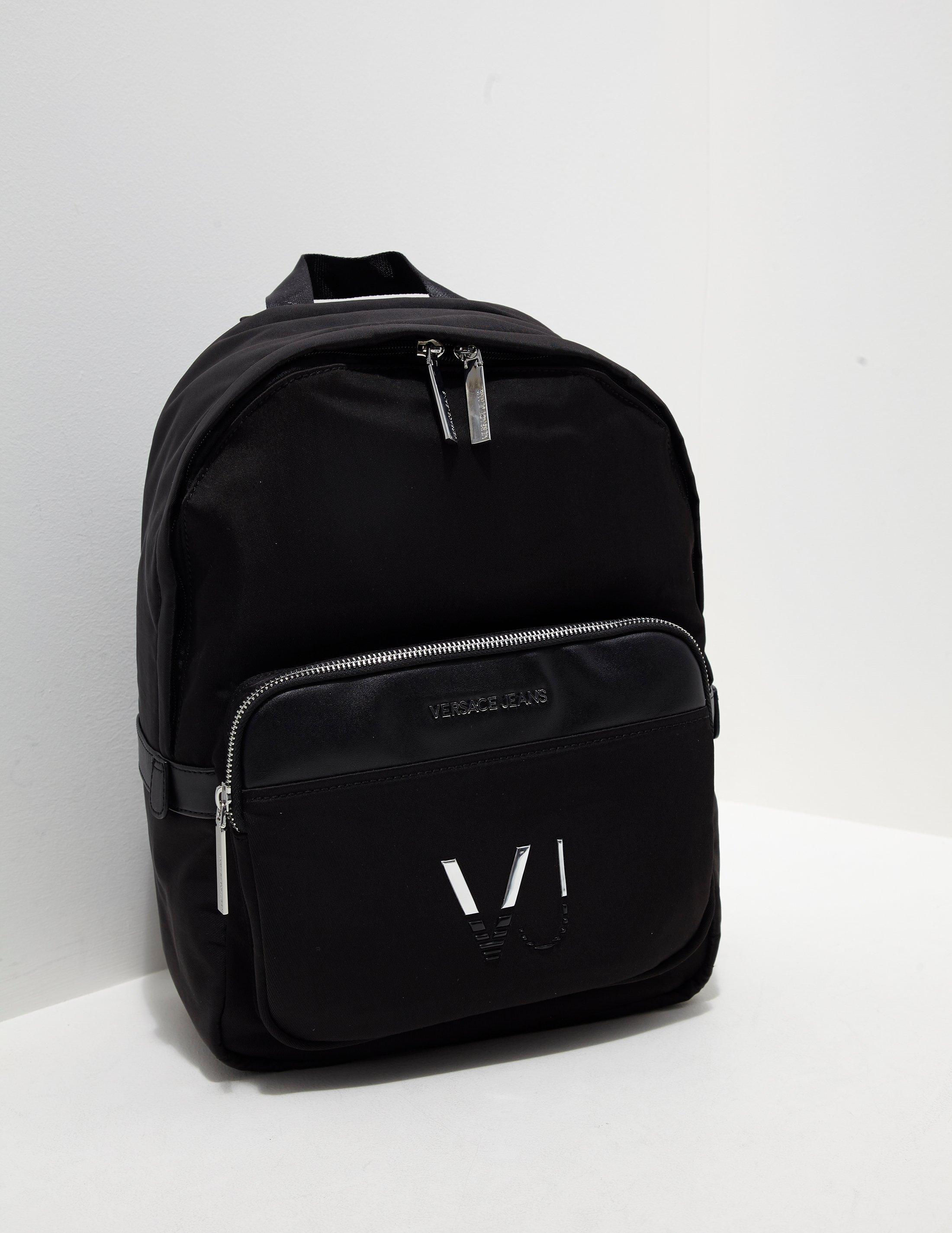 200a0f479634 Lyst - Versace Jeans Mens Linea Logo Backpack Black in Black for Men