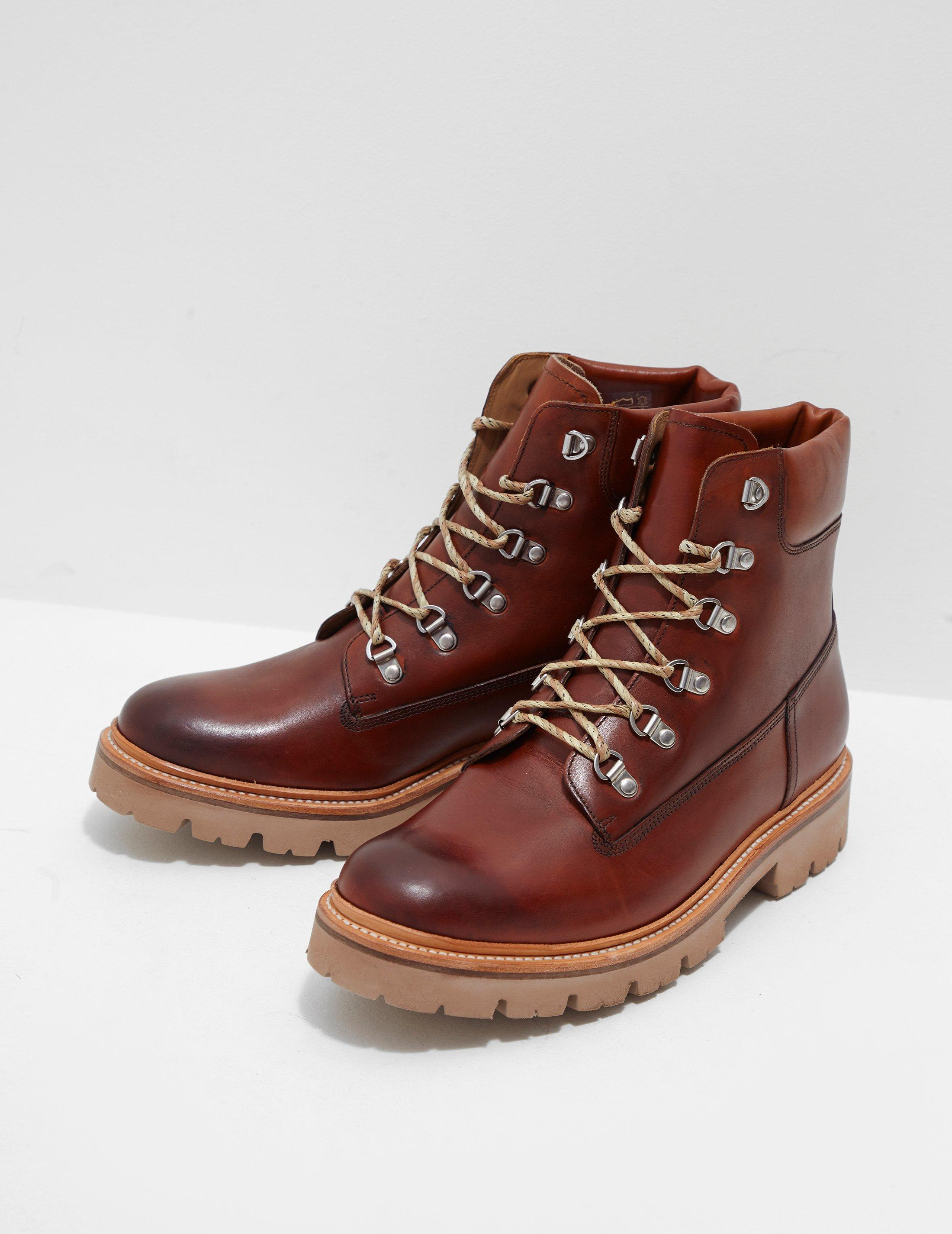 9007aef3128 Lyst - Grenson Rutherhood Leather Boots - Online Exclusive Brown in ...