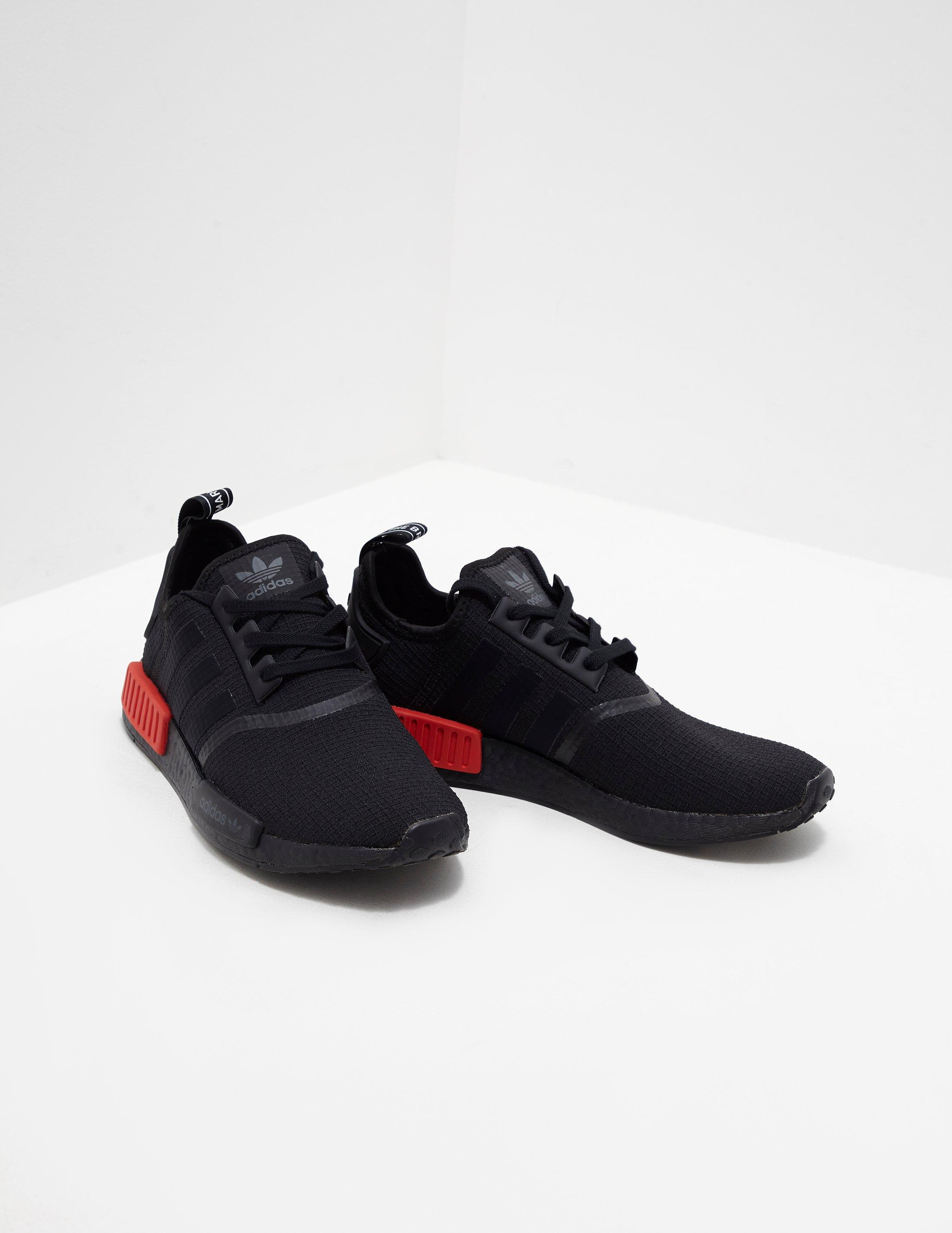 bf643ad9e Lyst - adidas Originals Mens Nmd R1 Ripstop Black in Black for Men