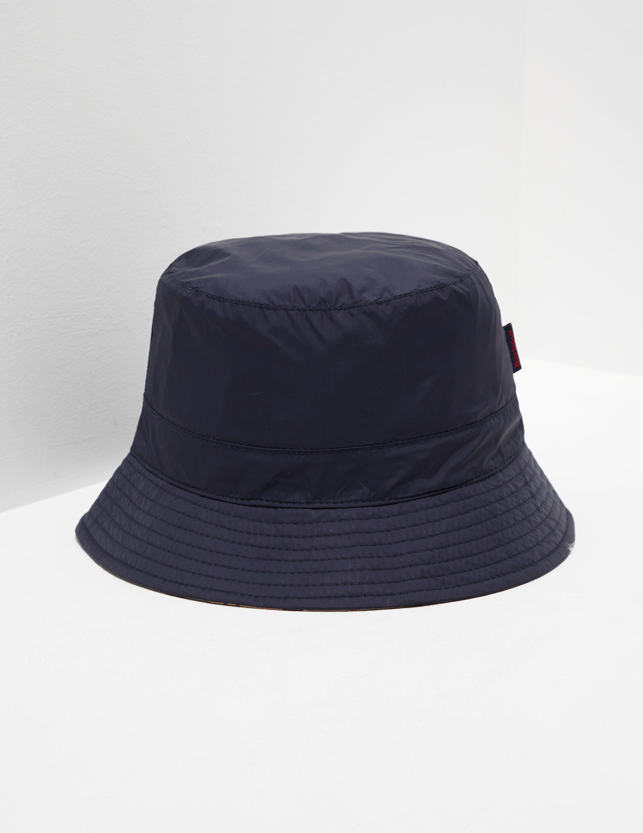 cd4f2d39 Barbour Mens Reverse Tartan Bucket Hat Navy Blue in Blue for Men - Lyst