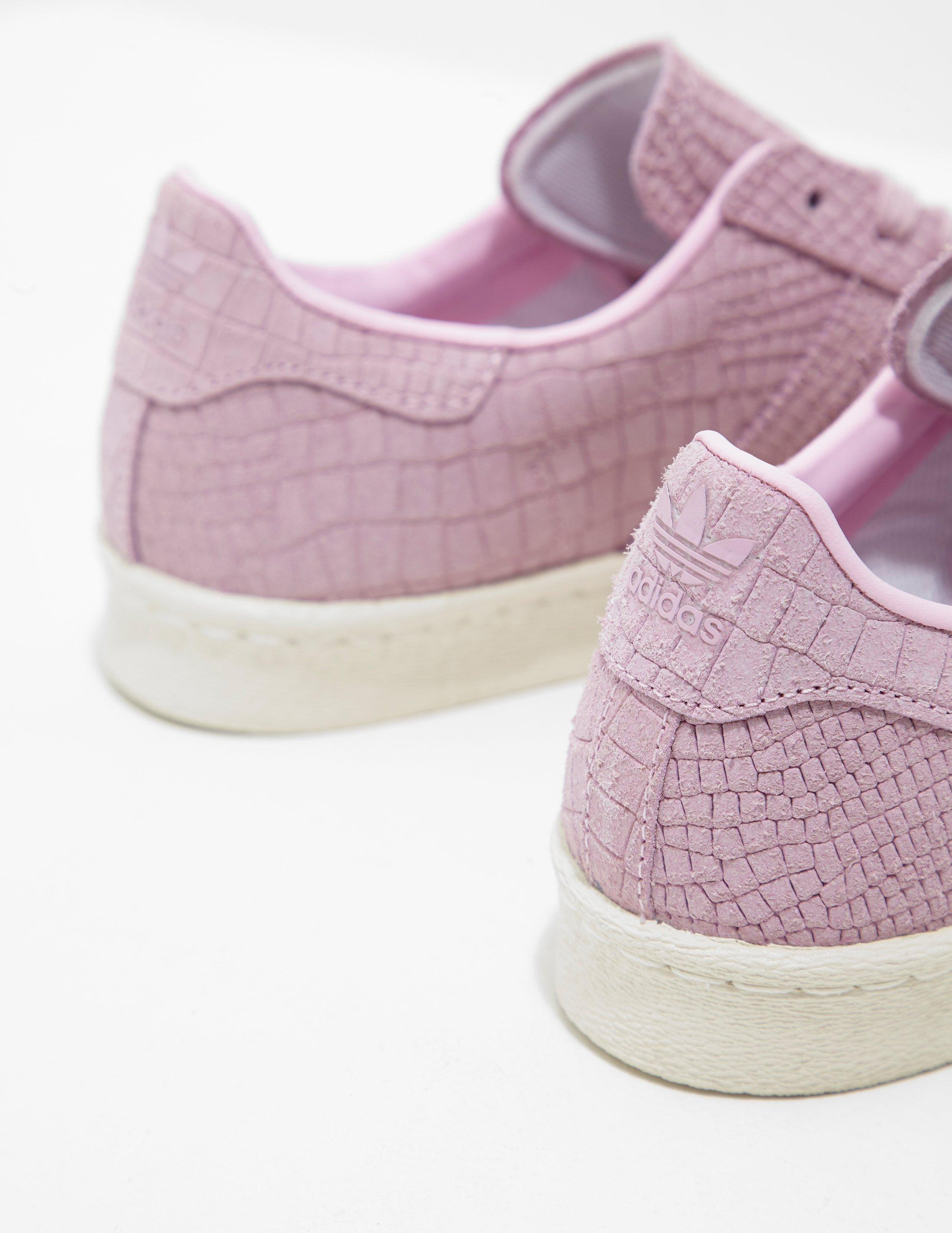Adidas Originals  mujer superstar Croc de rosa en rosa Lyst