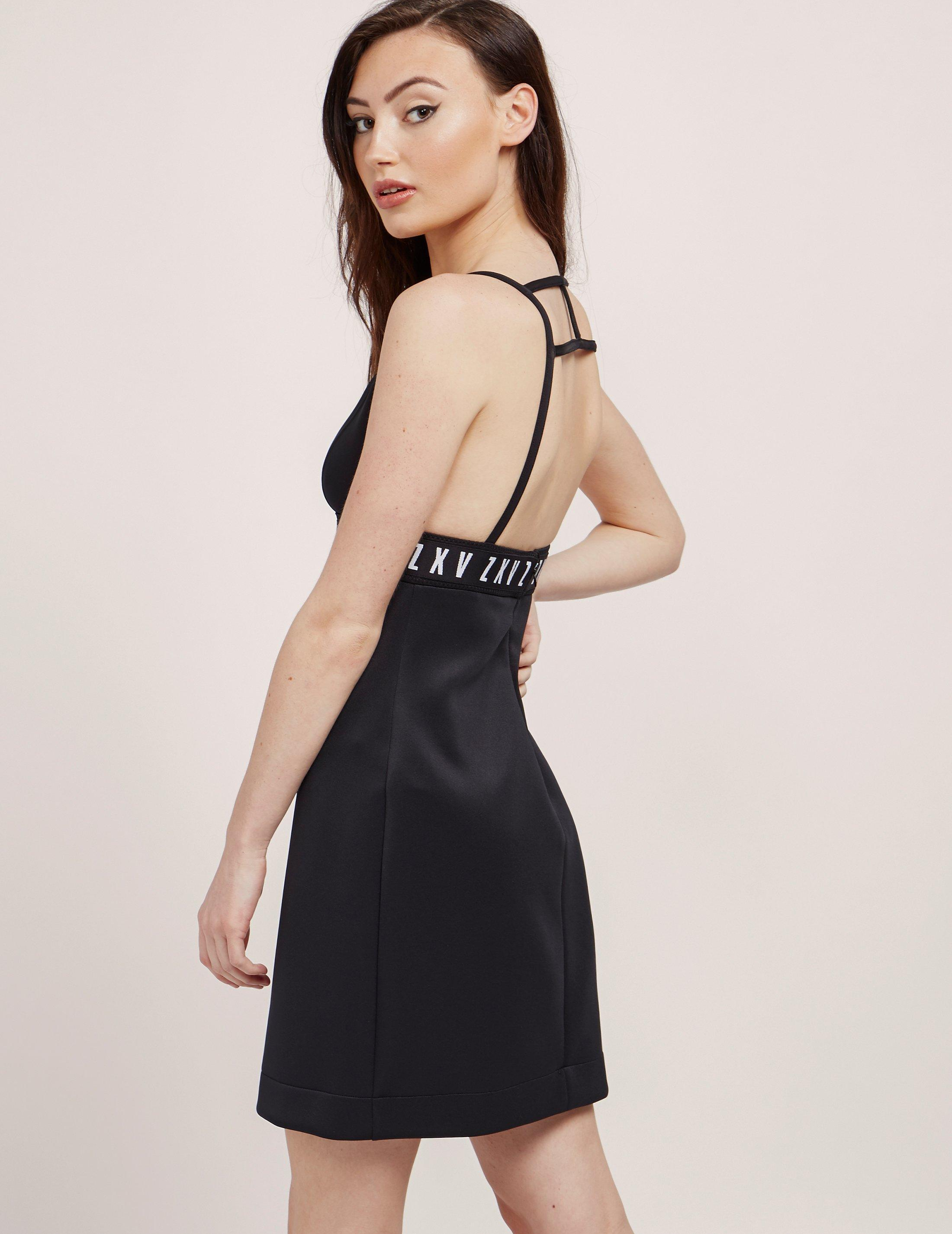 b84675cec8 Lyst - Versus Womens X Zayn Triangle Top Dress - Online Exclusive ...