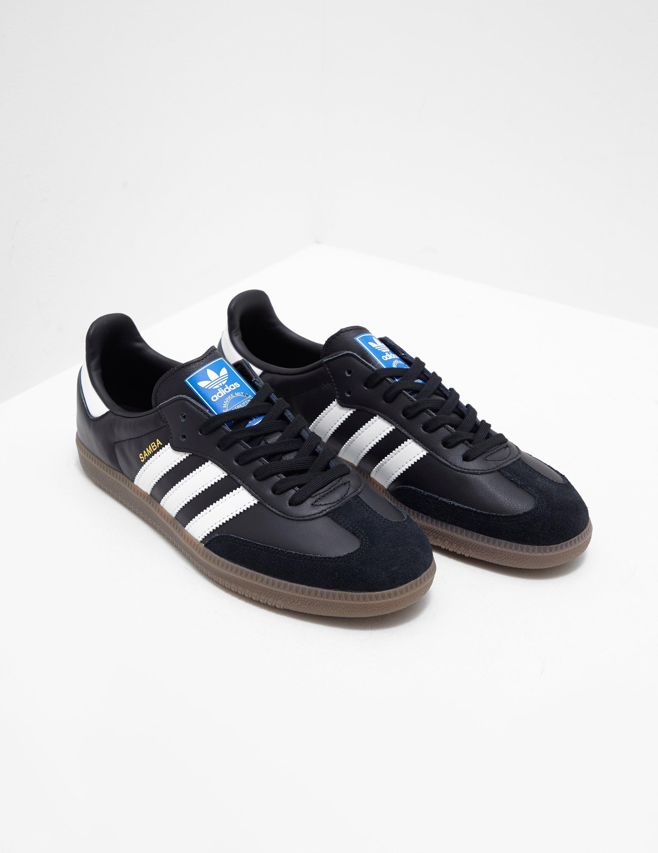 Lyst - Adidas Originals Mens Samba Black in Black for Men 0cd6969d7