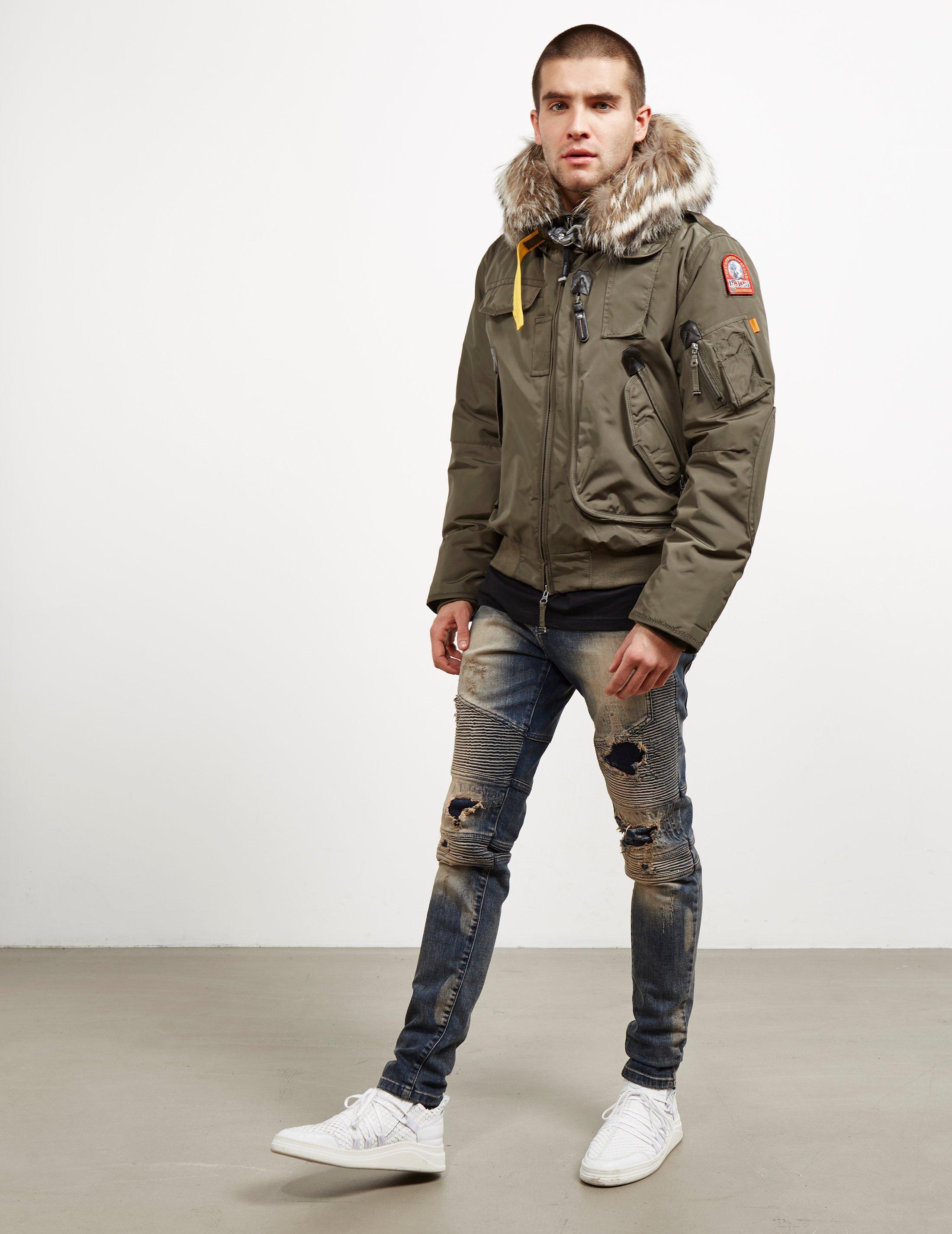 parajumpers gobi padded bomber jacket
