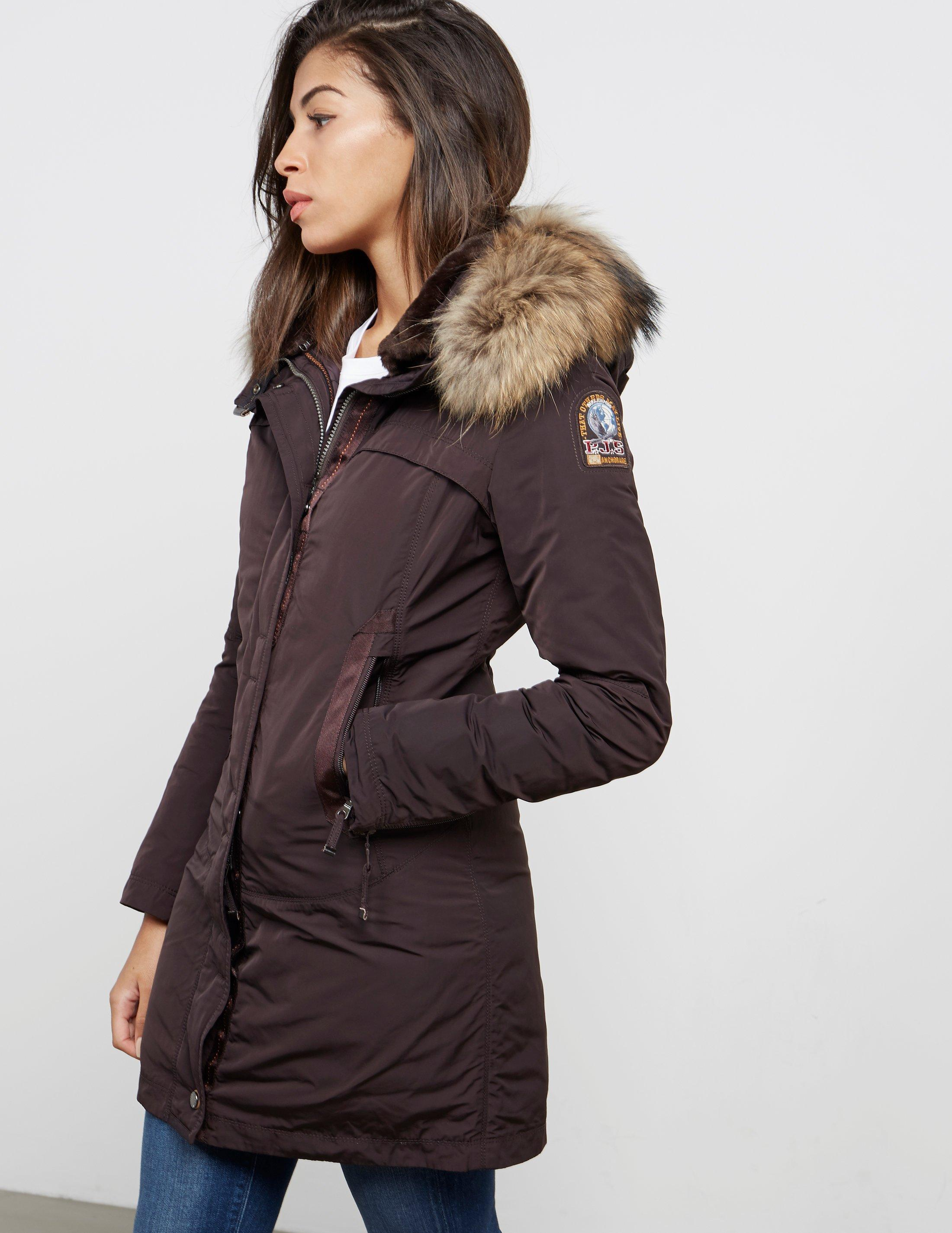 Parajumpers. Women's Black Selma Parka Jacket