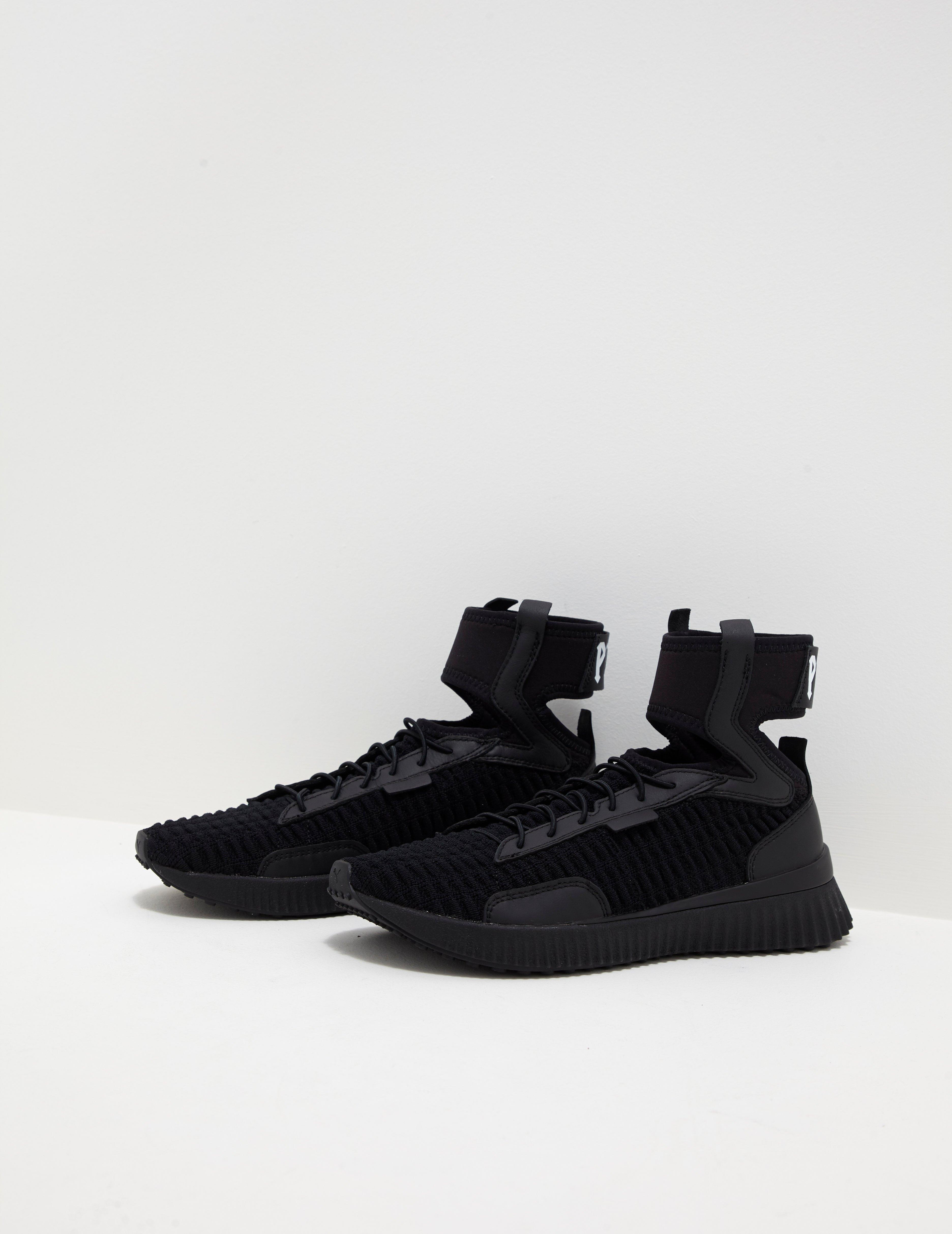 uk availability ac6a1 d8ead PUMA X Fenty Mid Trainer - Online Exclusive Black in Black ...