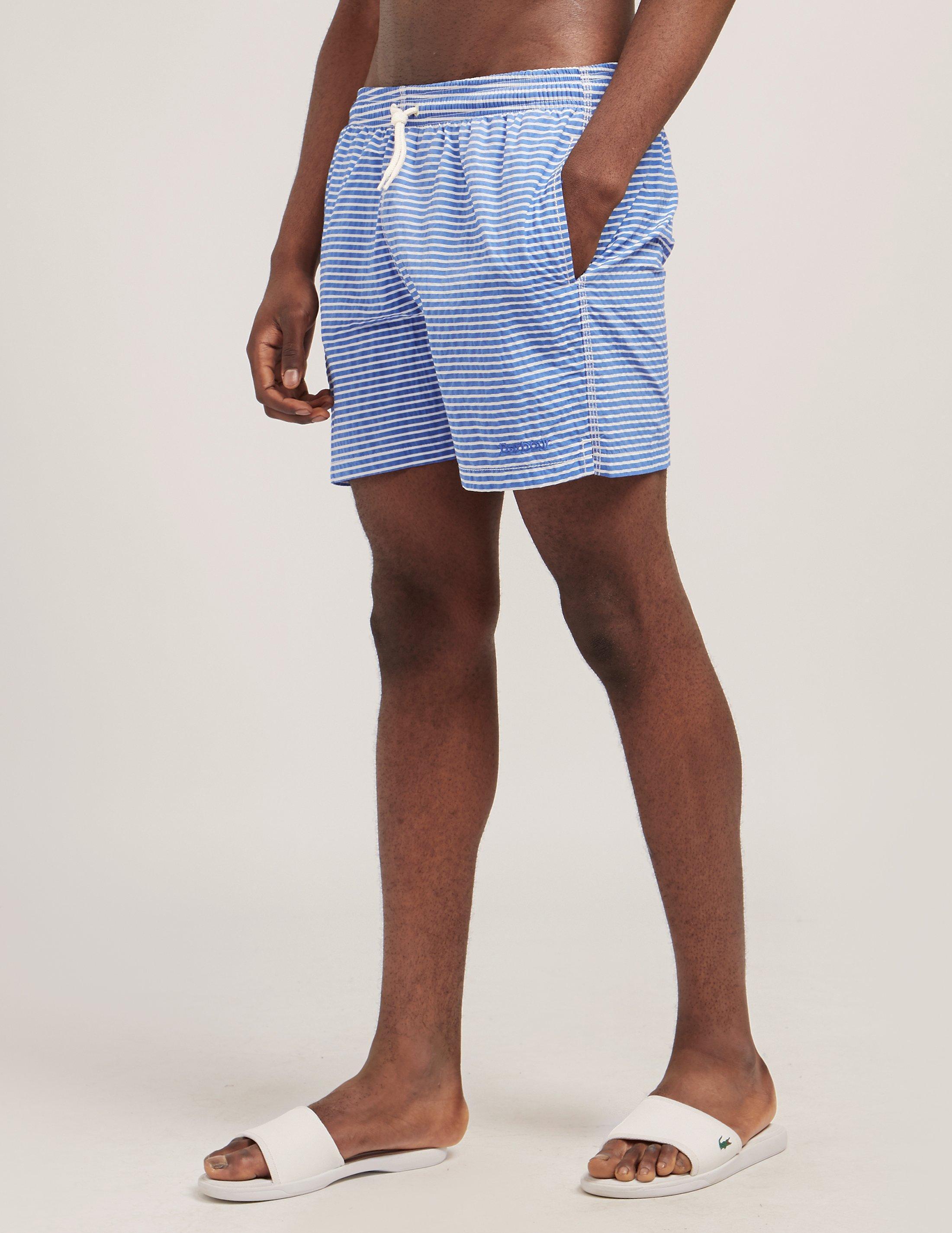 0e8dc7048fb50 Barbour Milton Swim Shorts in Blue for Men - Lyst
