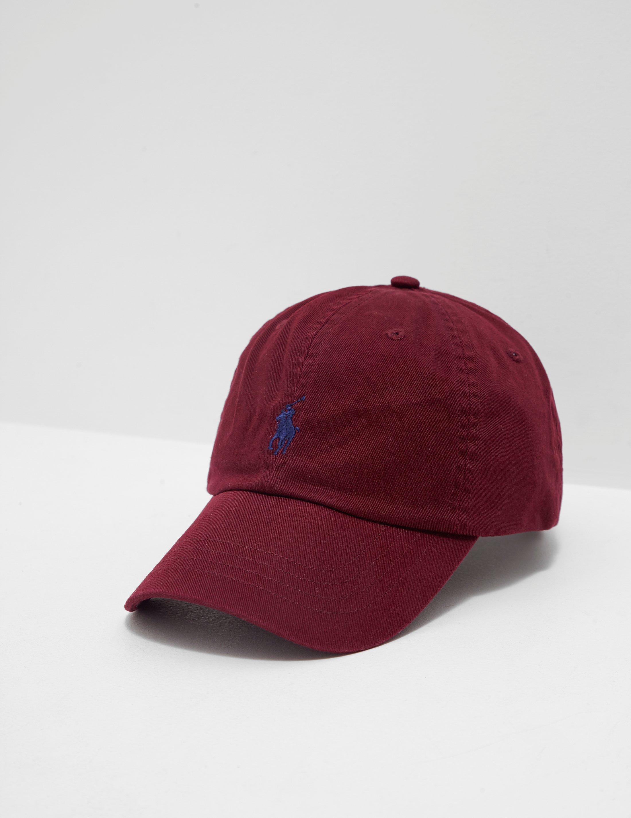 1bd8025a Lyst - Polo Ralph Lauren Classic Cap Red in Red for Men