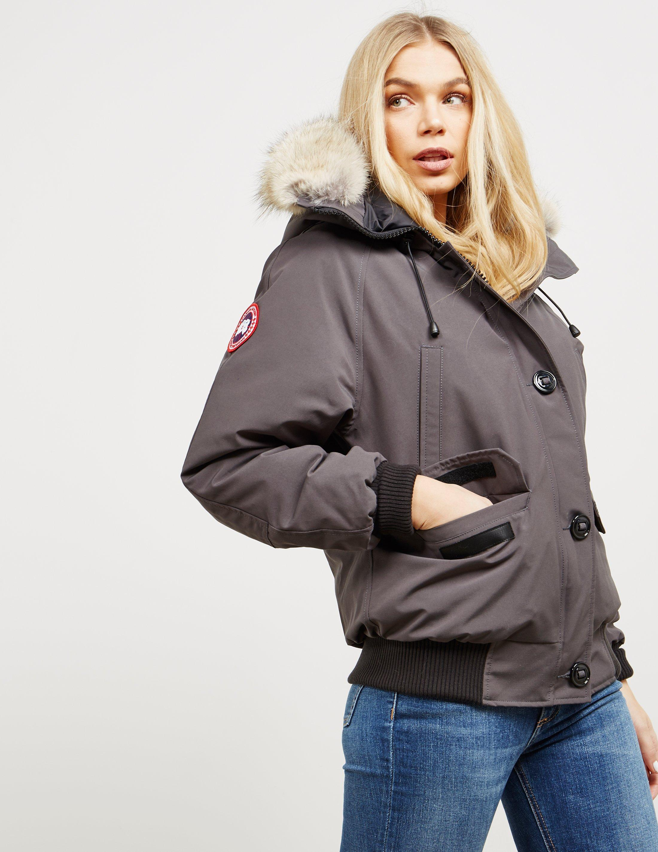 23890944db6 Lyst - Canada Goose Chilliwack Padded Bomber Jacket Grap/grap