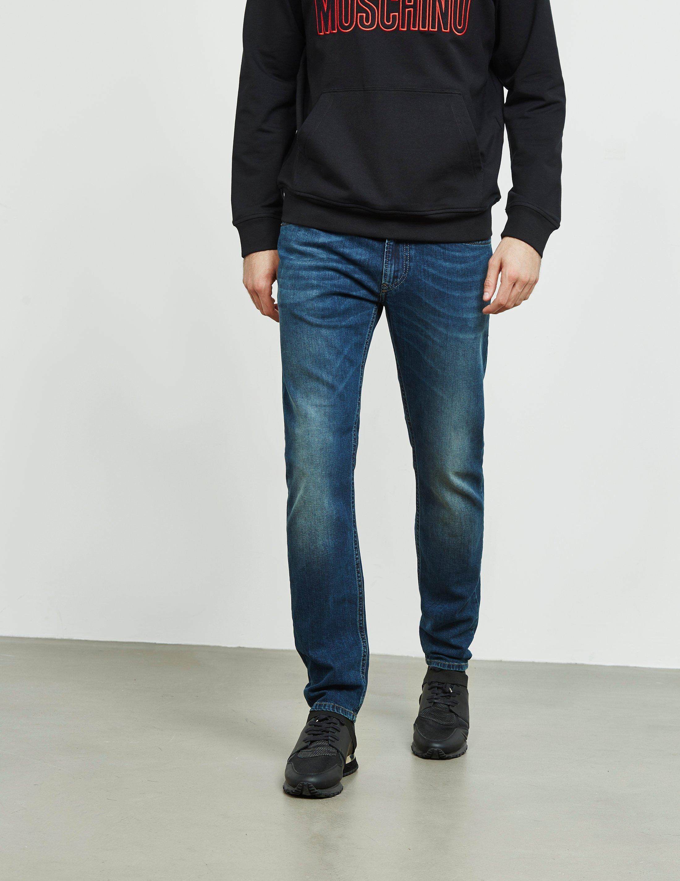 ca3cb05eb DIESEL Thommer Slim Jeans Blue in Blue for Men - Lyst